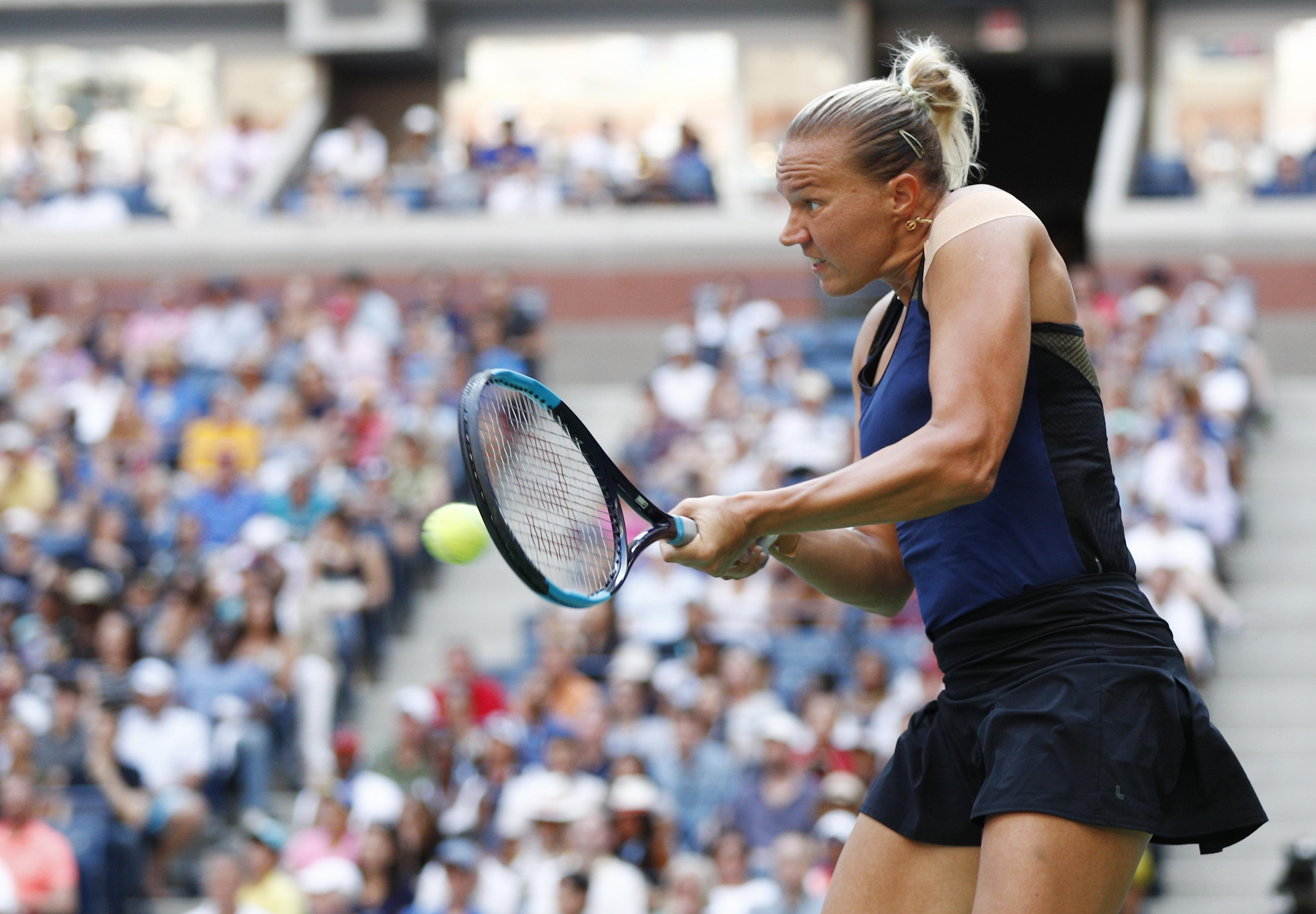 Kanepi was finally undone by the power and relentlessness of her 36-year-old opponent