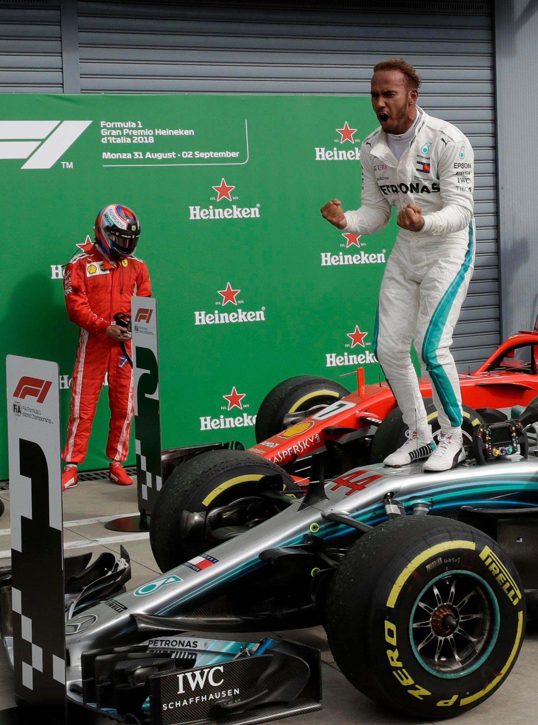 Brit Lewis Hamilton seems set to land his fourth F1 world title in the past five years