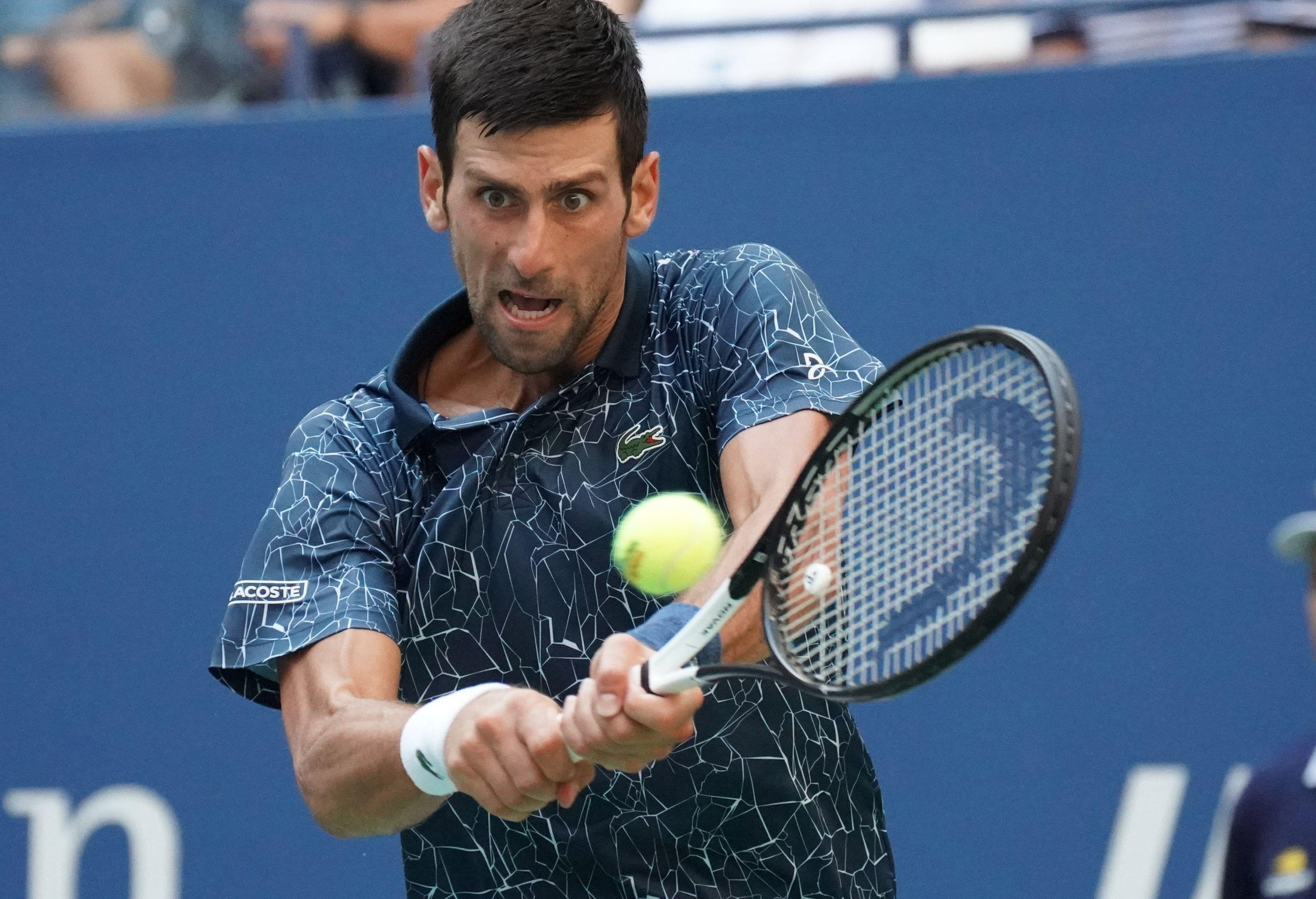 It took exactly two hours for Djokovic to see off the challenge of the unseeded Sousa