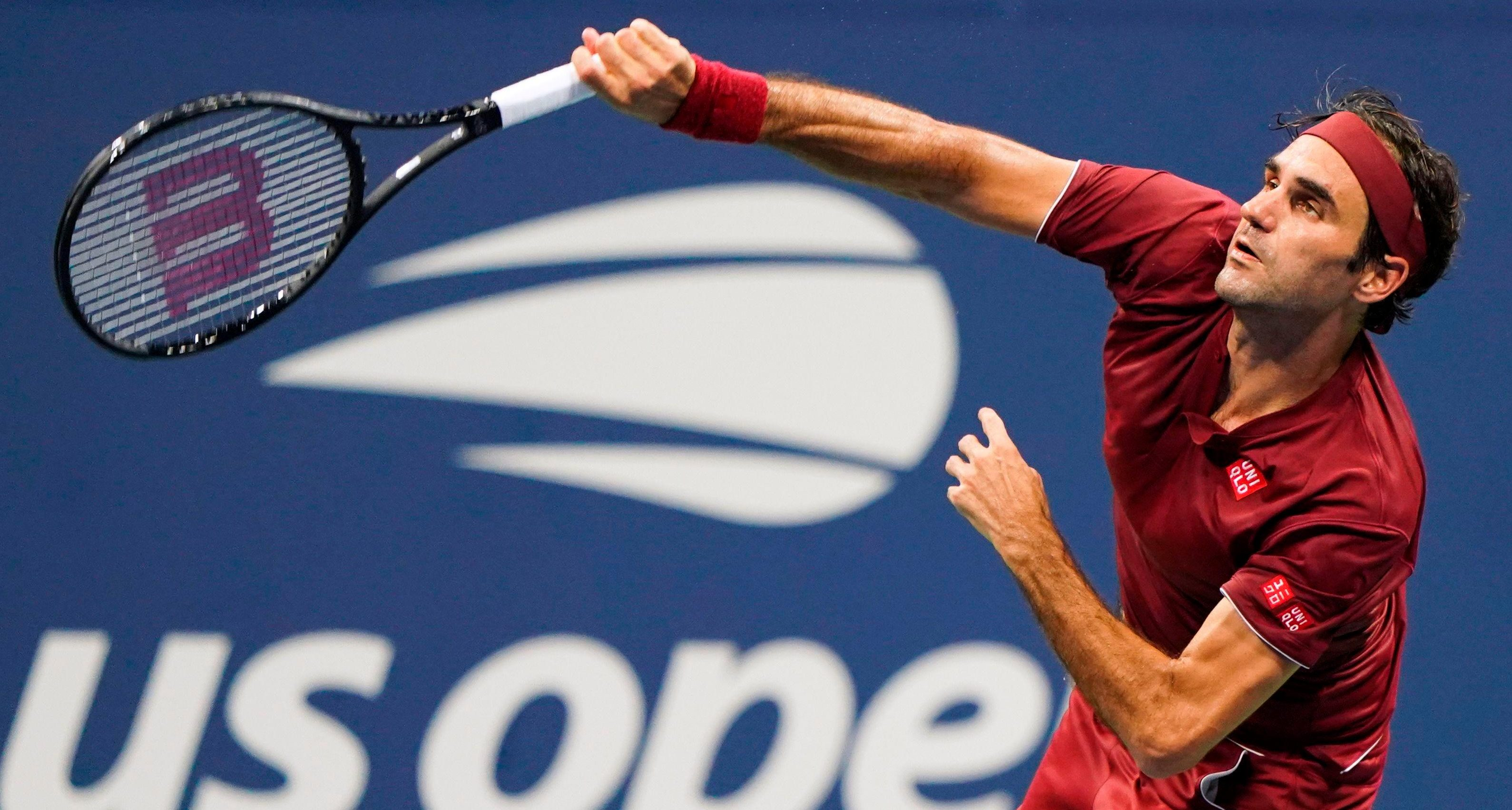 Roger Federer just could not stop Millman running away with the tie