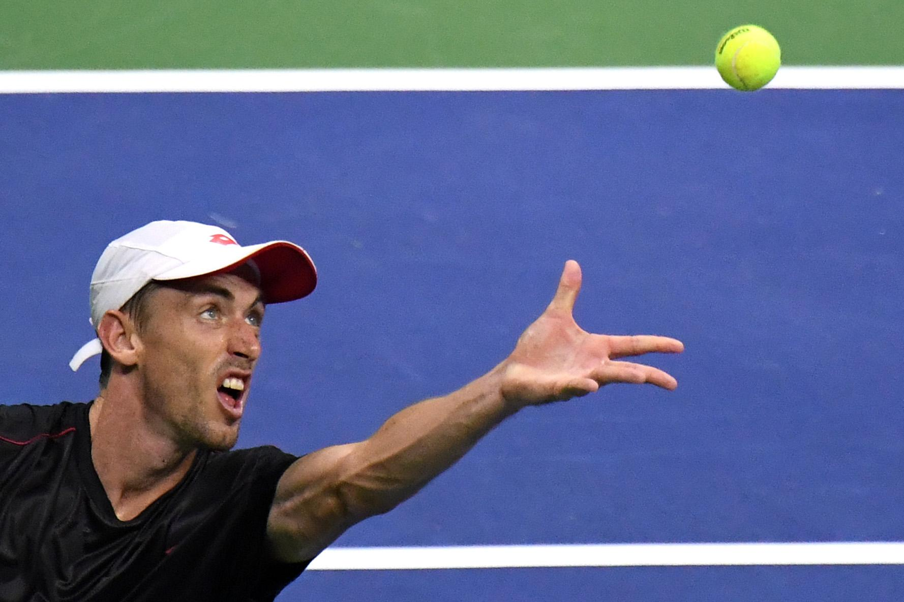 Australian John Millman knocked Roger Federer out
