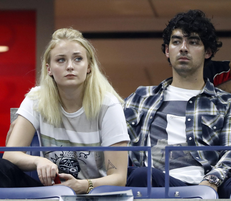 British actress Sophie Turner and singer Joe Jonas maybe weren't anticipating such a marathon match