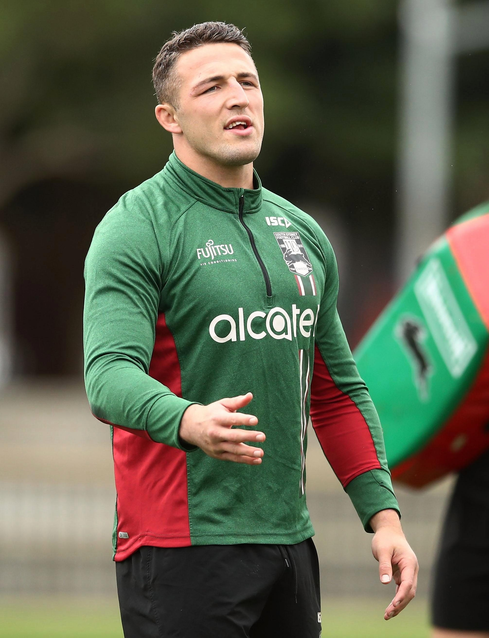 Rugby League star Sam Burgess is at the centre of a sexting storm in Australia