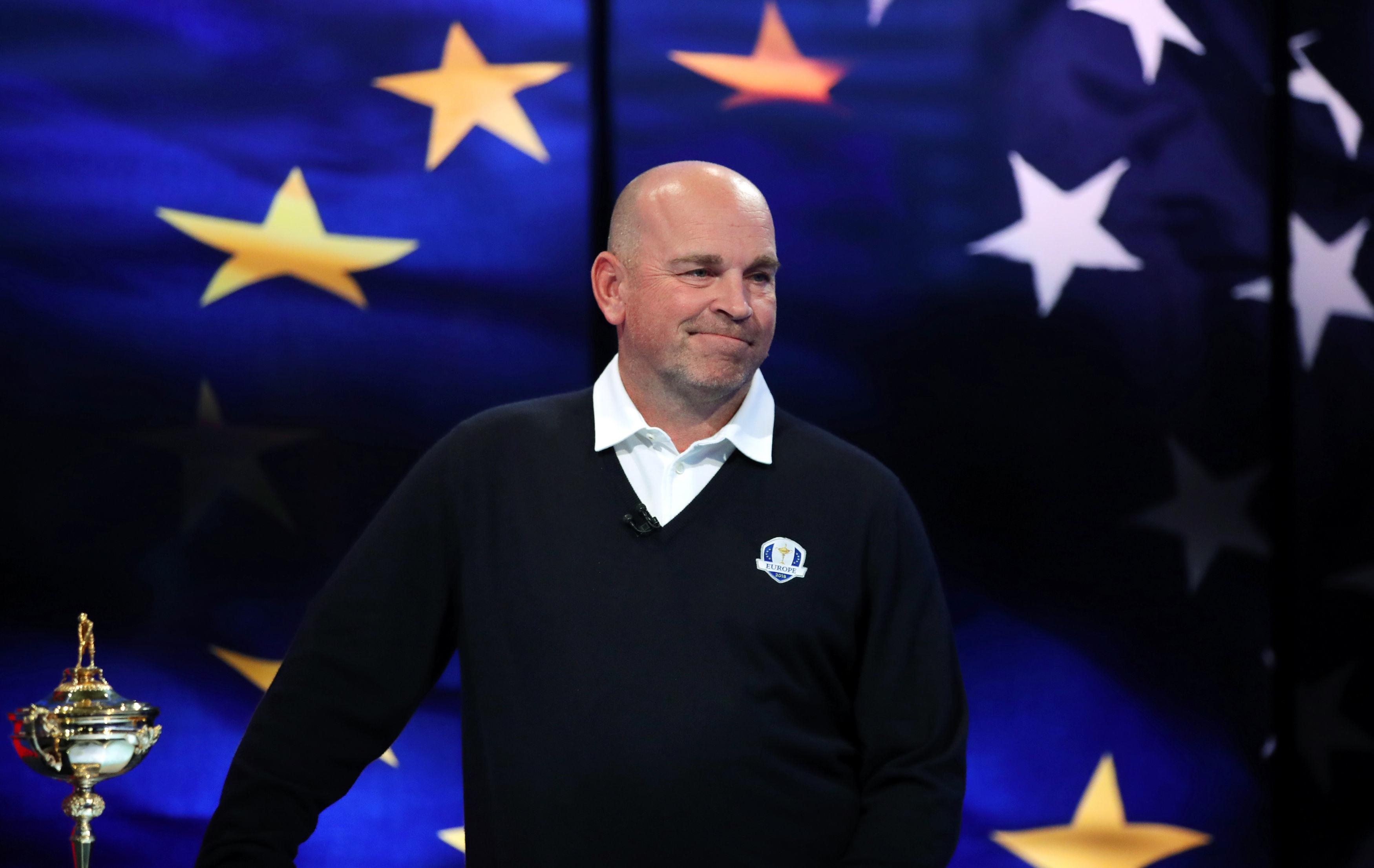 Thomas Bjorn now has his full team ahead of the historic golfing event