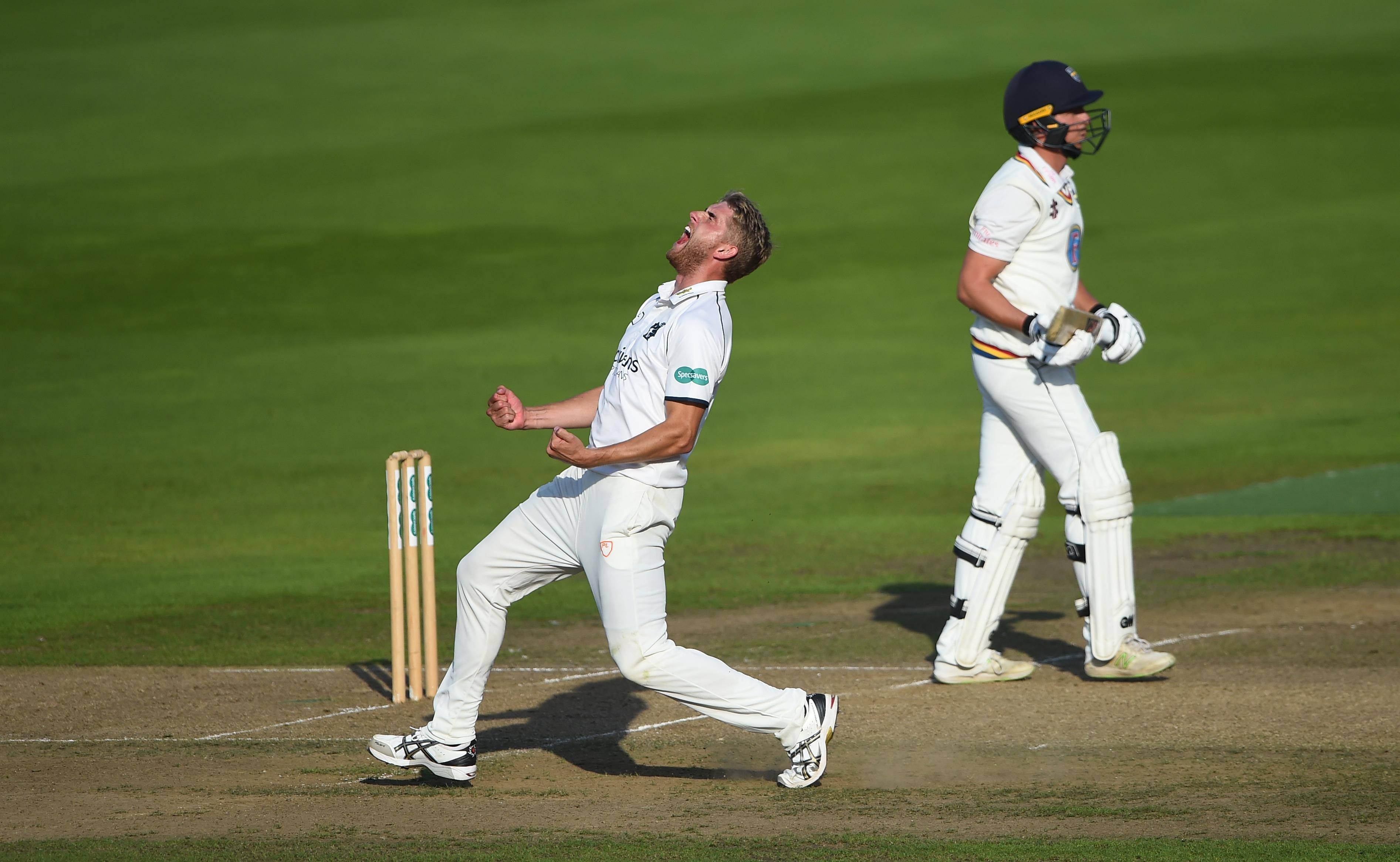 The Warwickshire paceman can bowl at 92mph