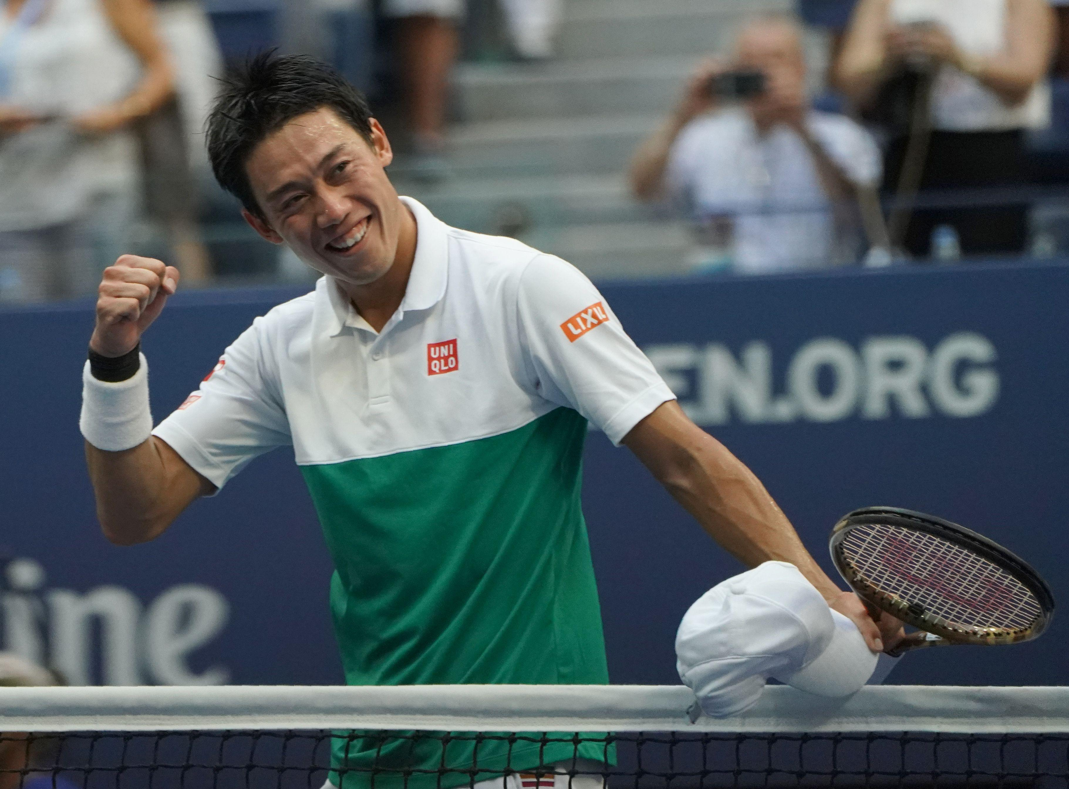 Kei Nishikori would become the first Japanese Grand Slam winner if he lifts the title at Flushing Meadows