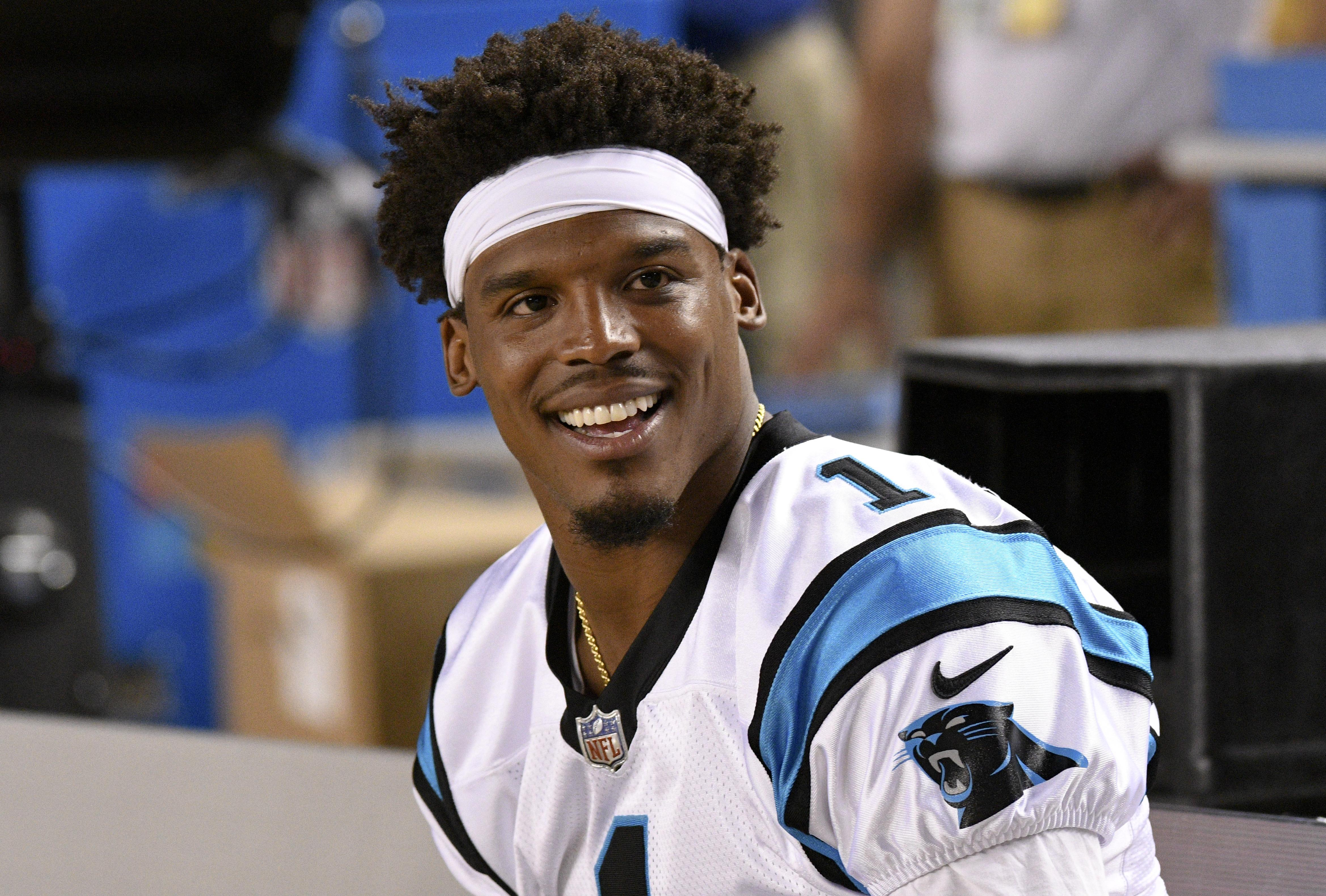 Cam Newton will be hoping to propel the Panthers to another Super Bowl