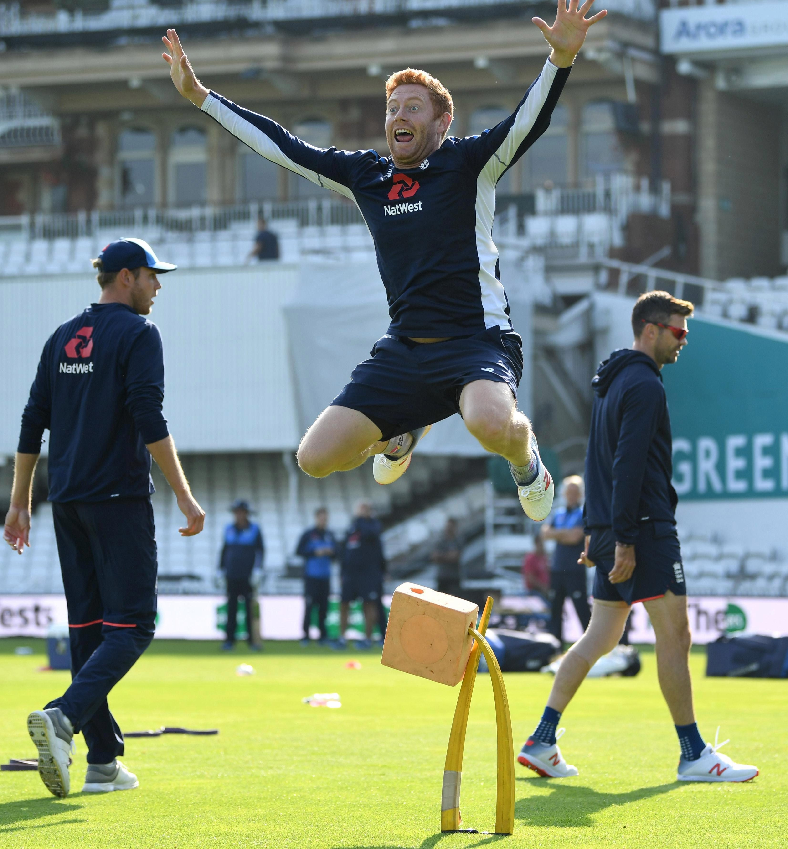 Jonny Bairstow will be a happy chappy today to learn he is getting the gloves