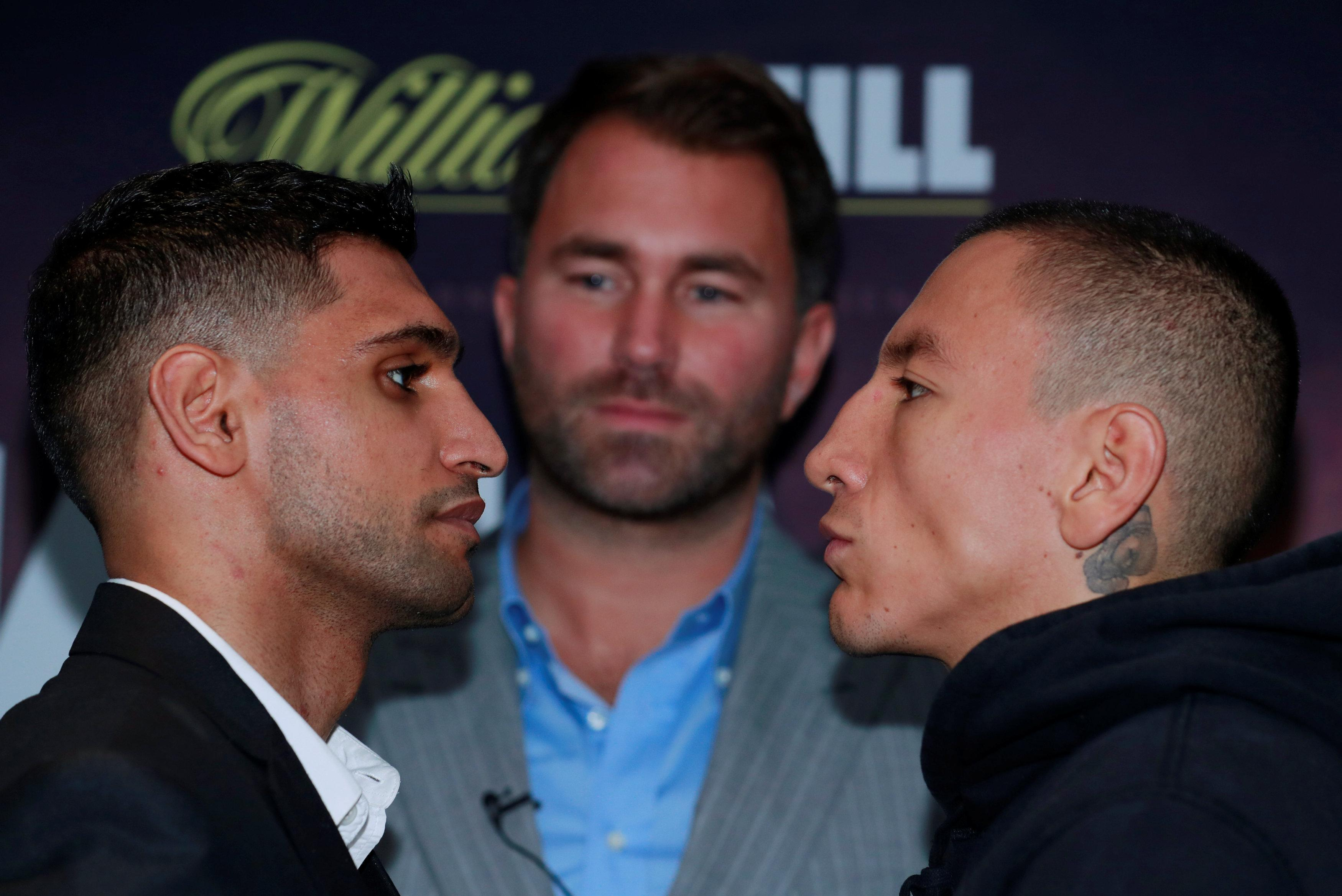 Khan faces Samuel Vargas this weekend and knows he needs to get the job done to keep alive a brook fight