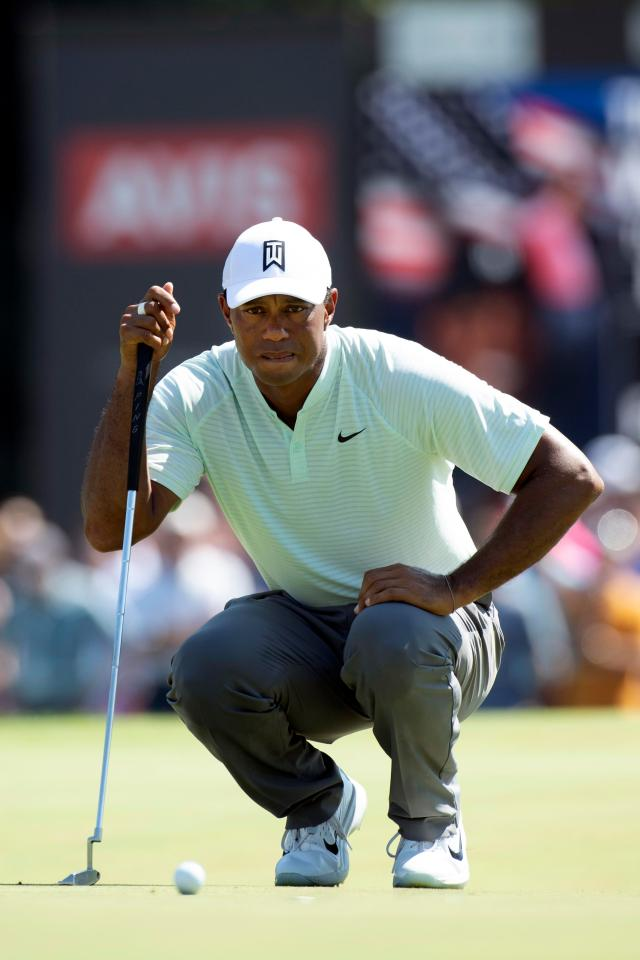 Tiger Woods has his eyes on the prize after shooting his lowest opening round in almost 20 years