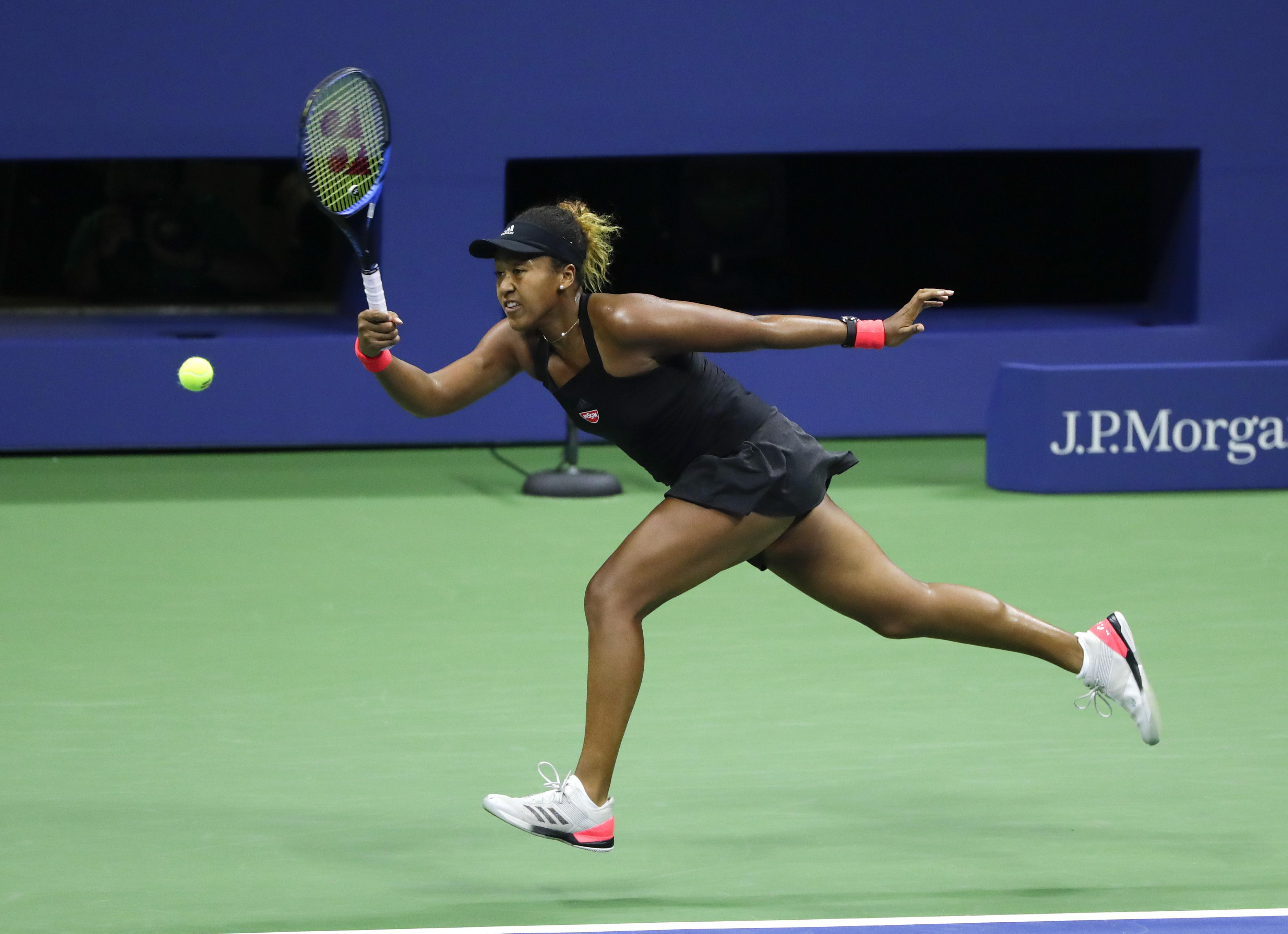 Osaka beat Madison Keys in the semi-finals to reach her first Grand Slam final