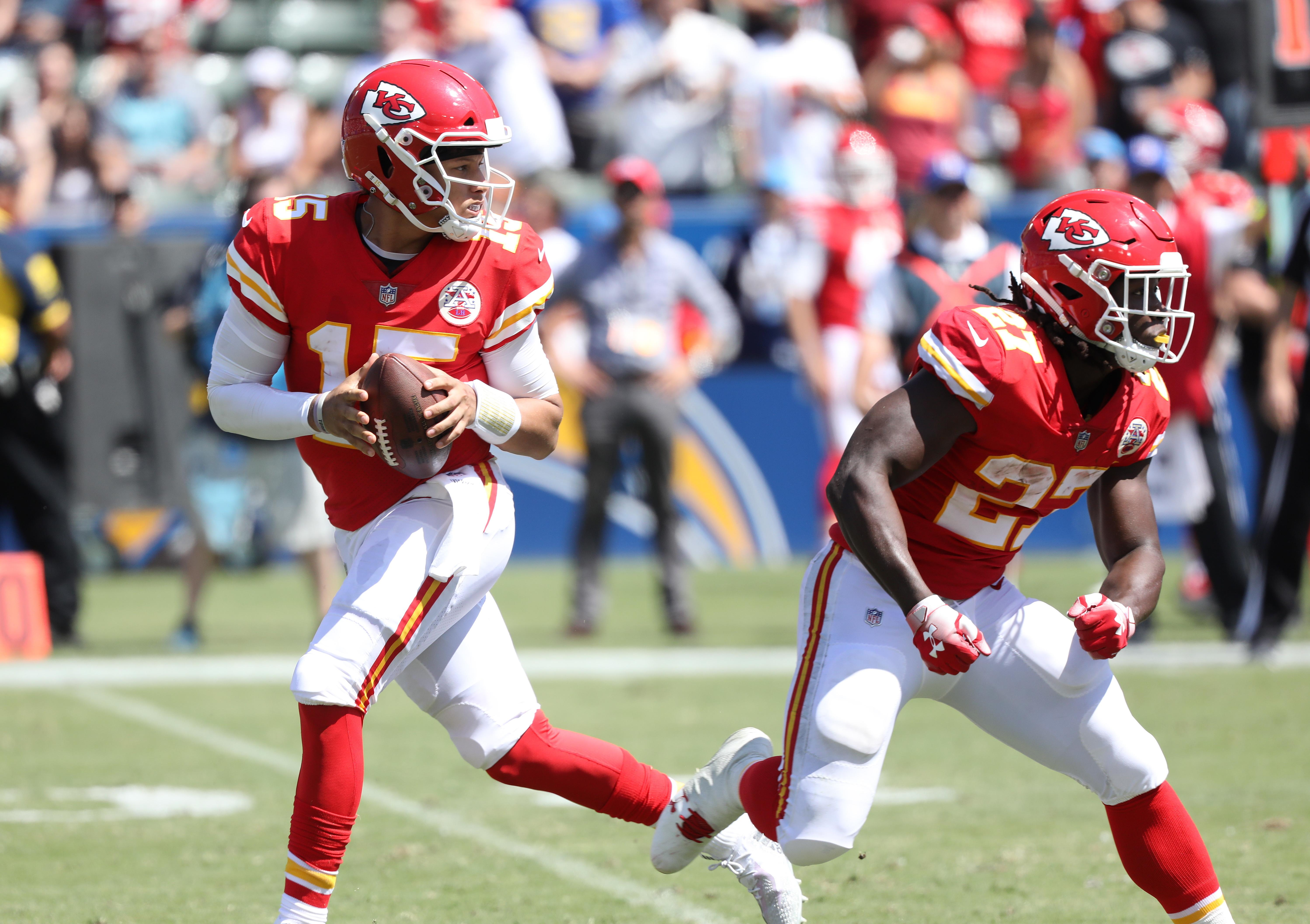 Mahomes looked a fantastic prospect against the Chargers
