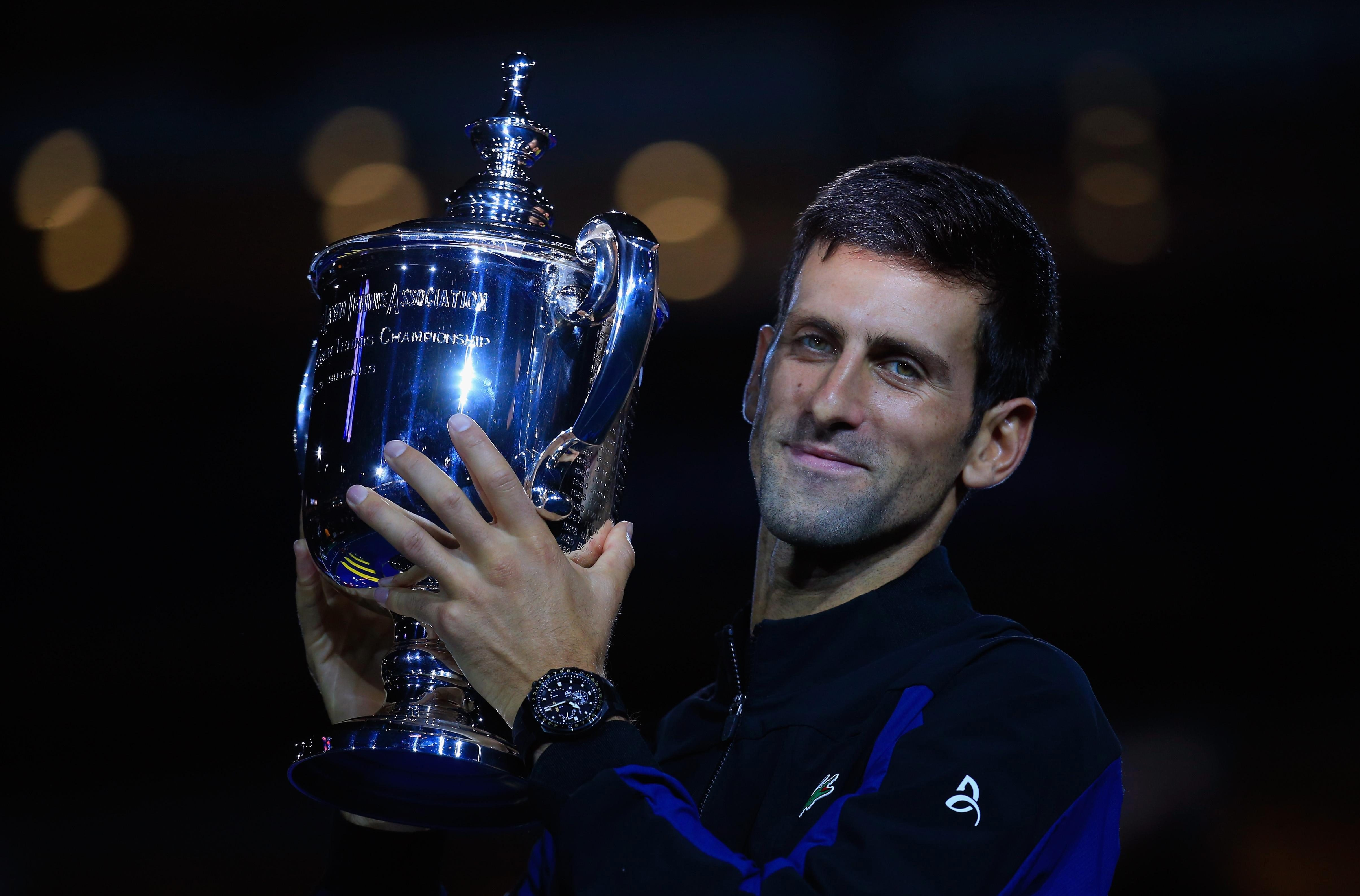 Novak Djokovic claimed his third US Open to go level with Pete Sampras on 14 Grand Slam titles