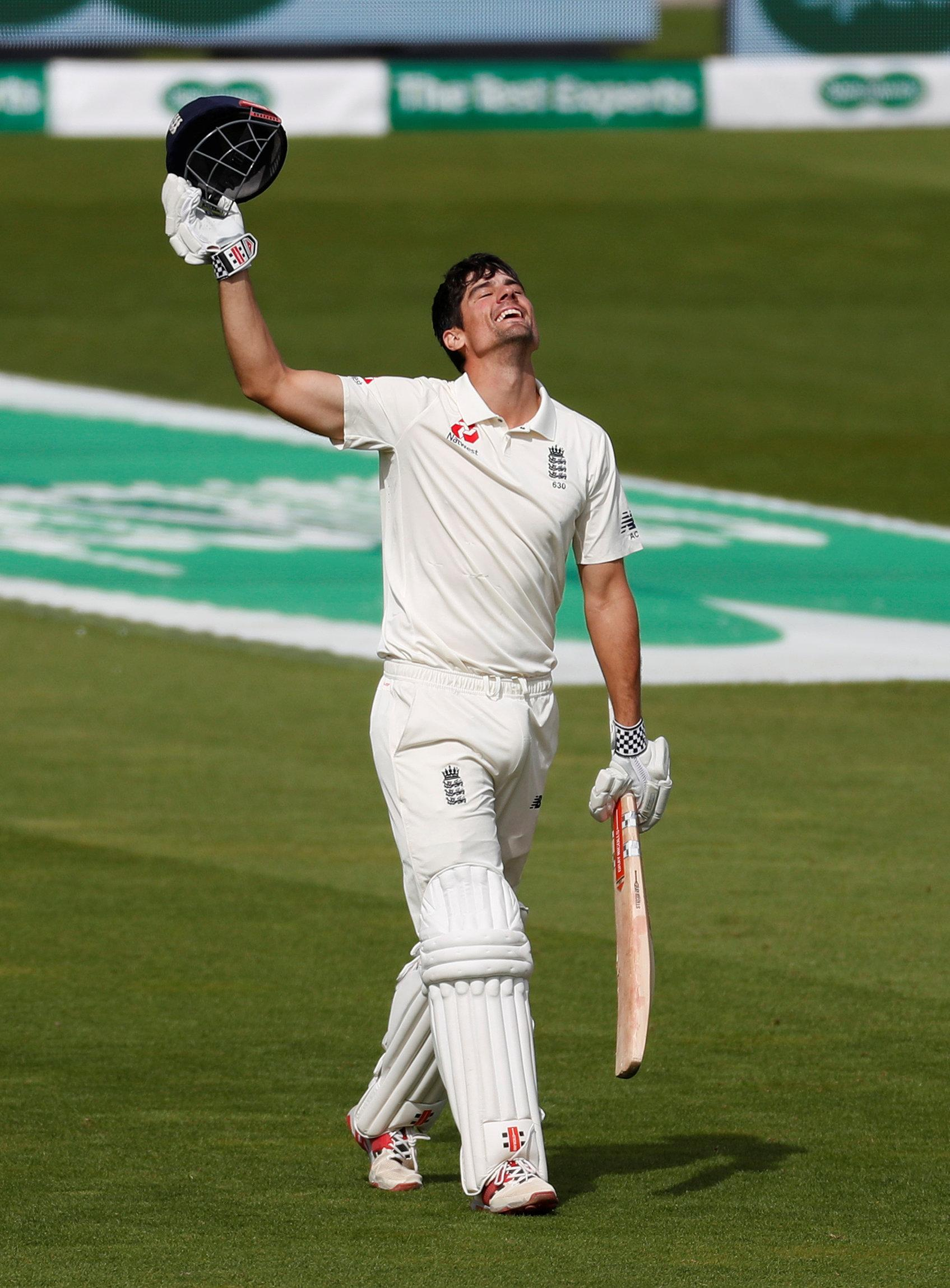 Alastair Cook scored a fantastic 147 in his final Test innings for England