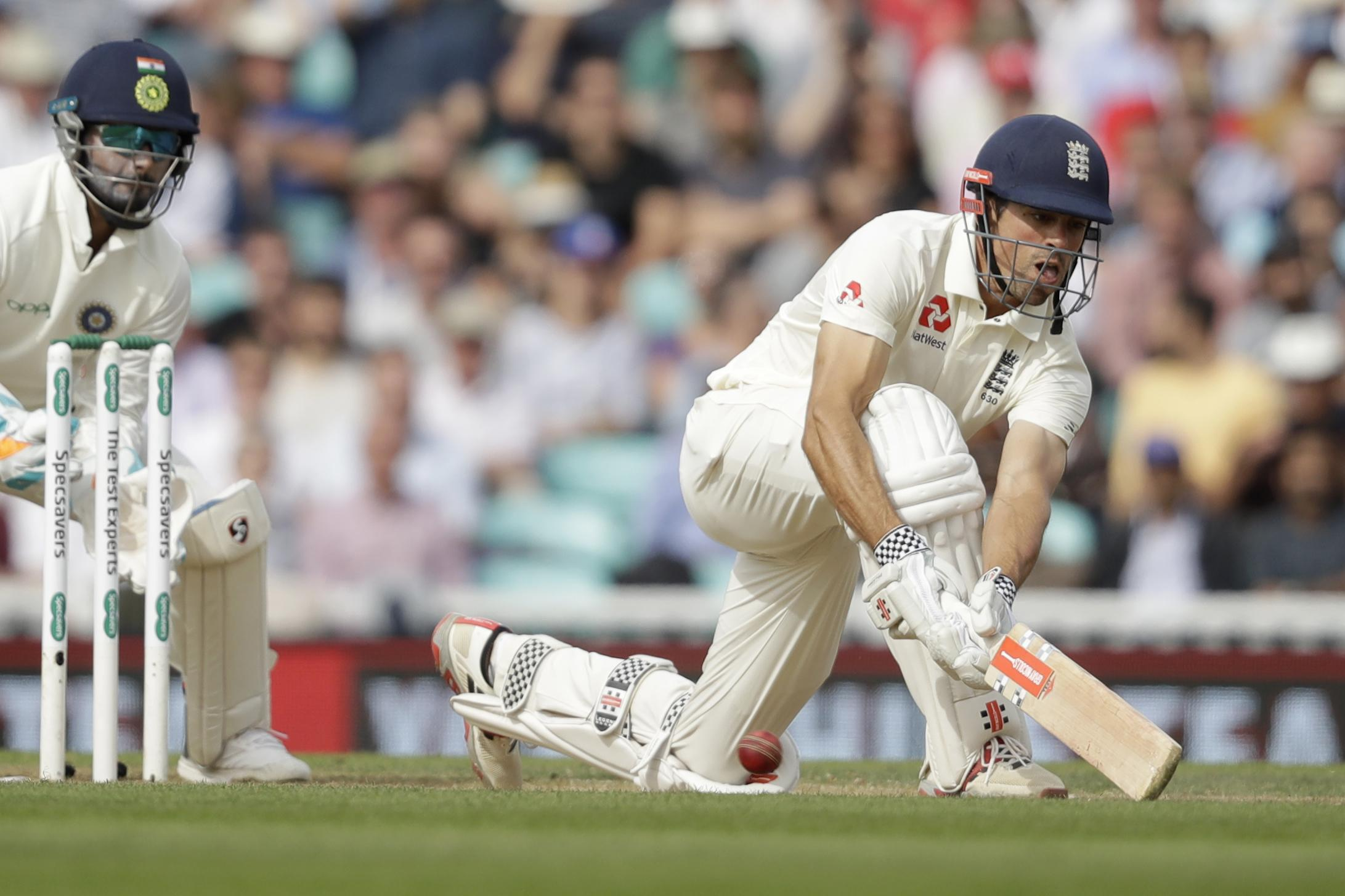 Cook and captain Joe Root both scored centuries to add an extra £40,000 to the total