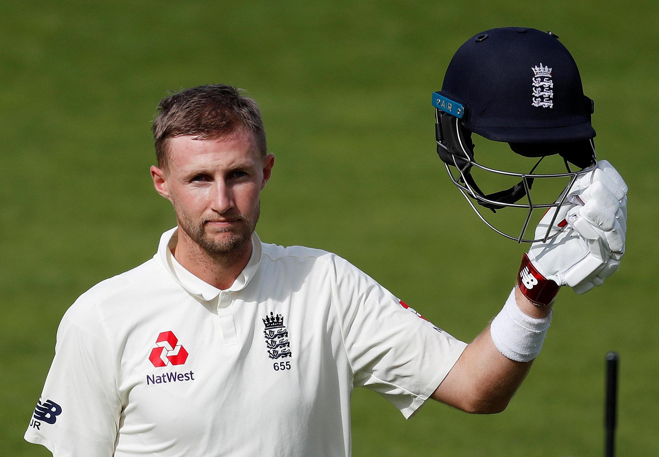 Joe Root also hit an important century for England, his first since last summer, at The Oval
