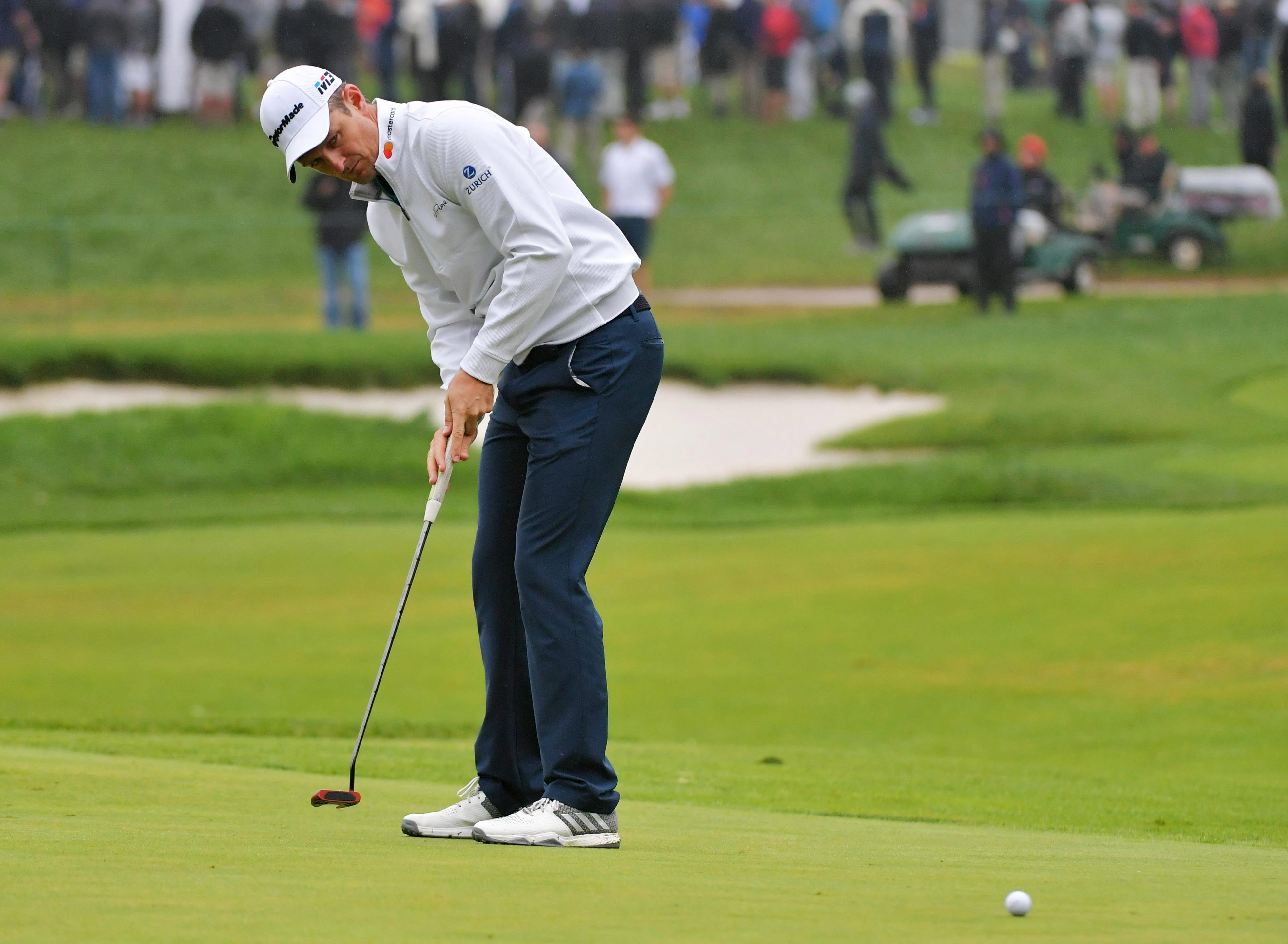 South Africa-born Justin Rose will go into the Ryder Cup ranked above the much-fancied Americans