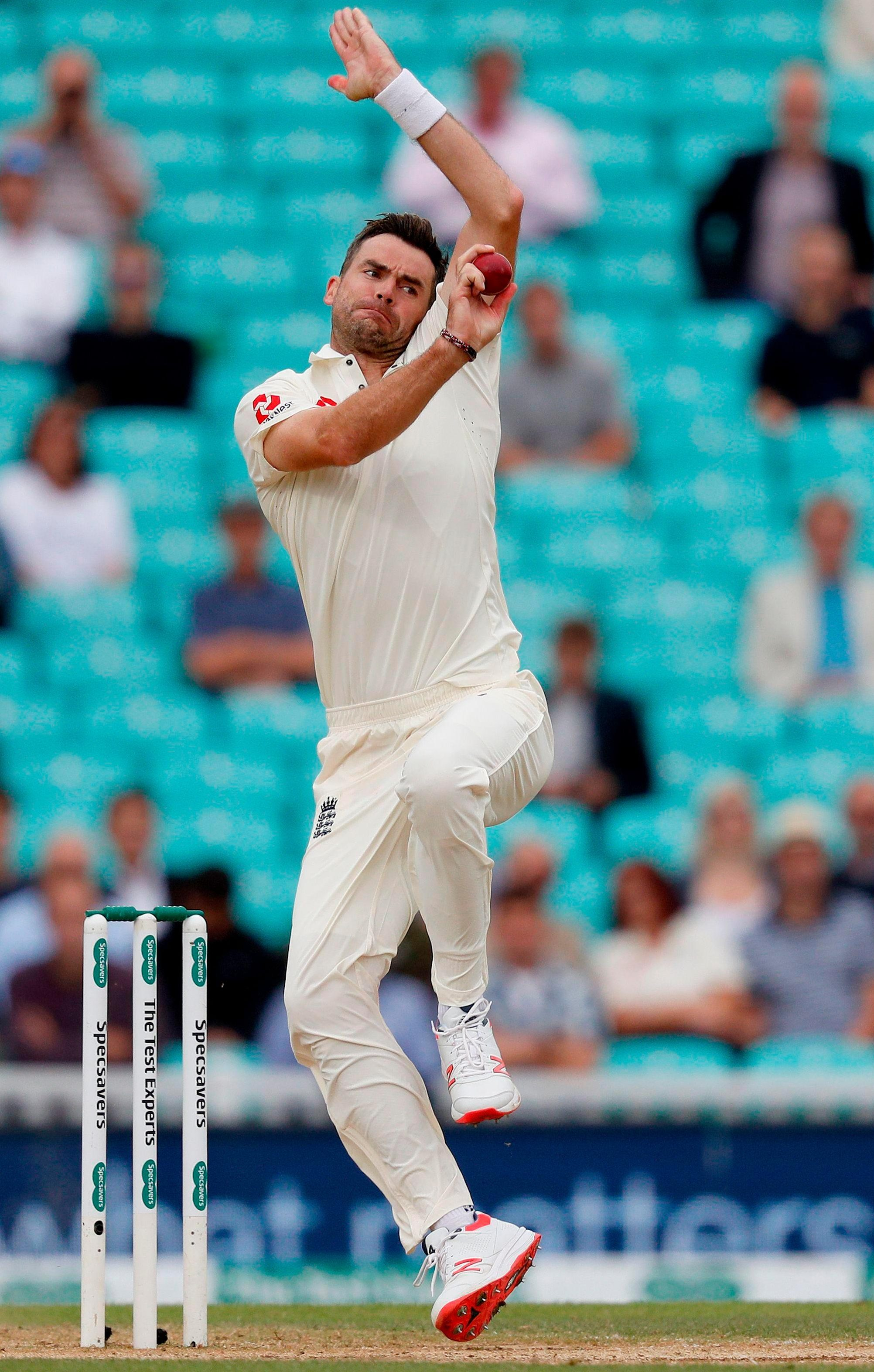 James Anderson feels as good as ever but is not taking anything for granted