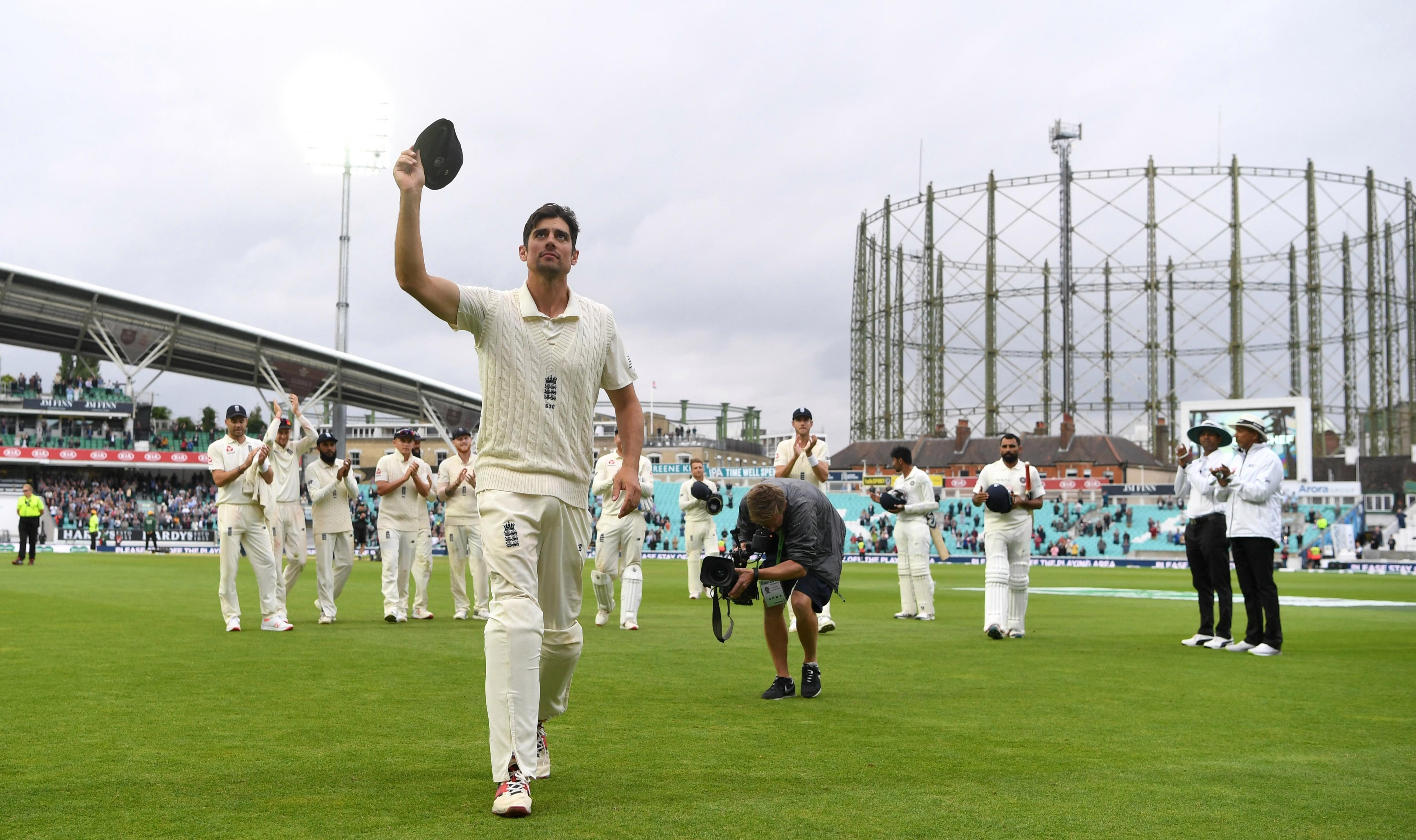 Alastair Cook called time on his stellar international career this year