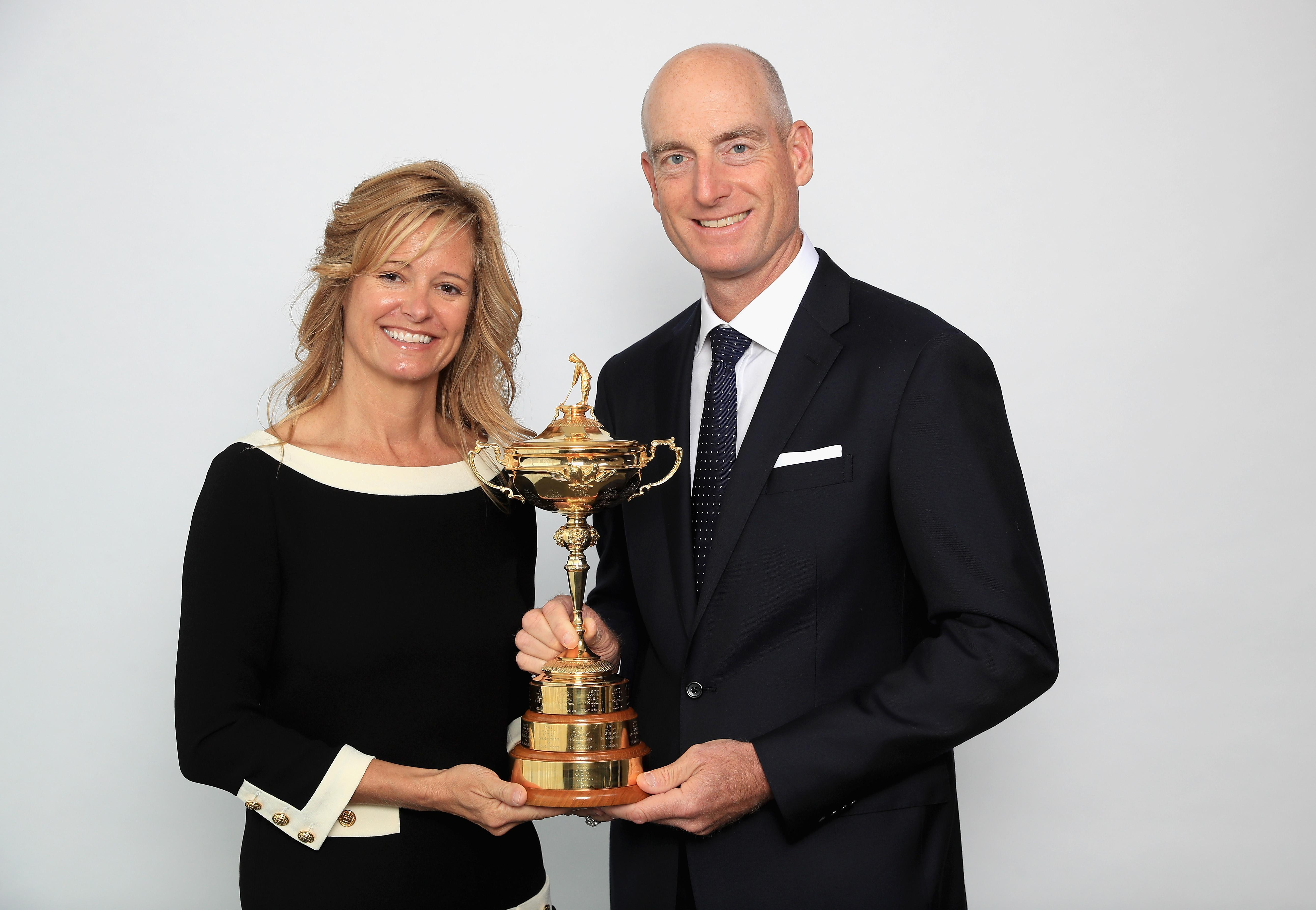 Jim Furyk with wife Tabitha