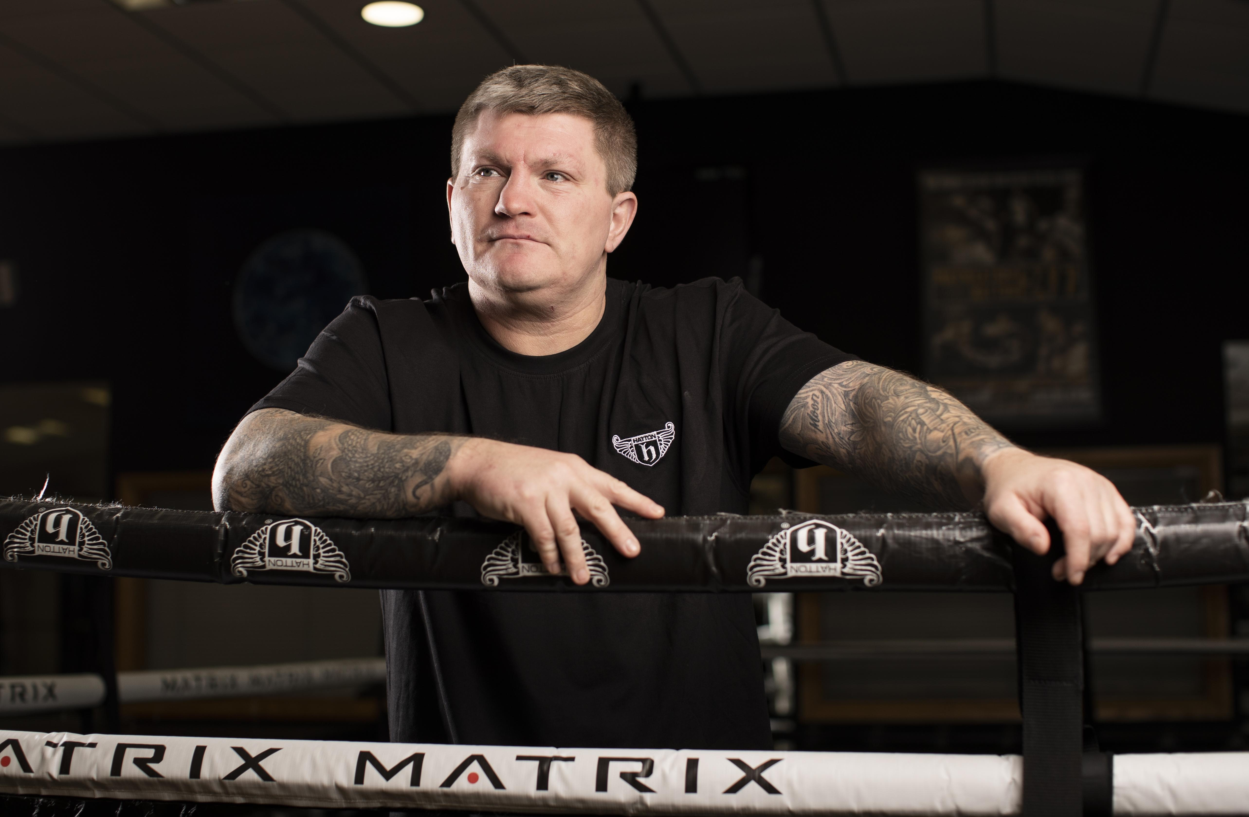 Hatton feels like the depression is at bay - but knows he'll never be rid of it