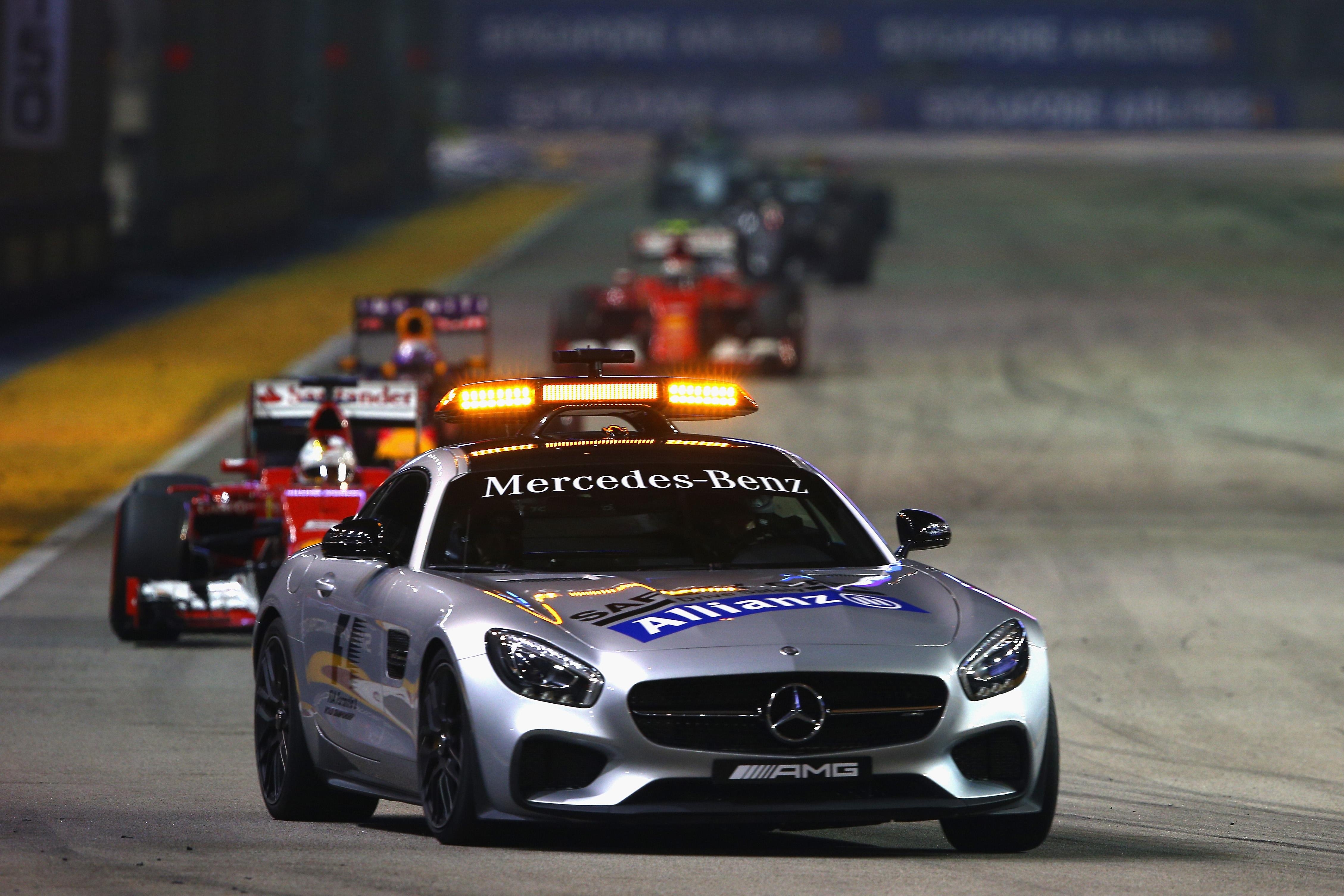 Bernd Maylander's safety car has been called into action in every Singapore Grand Prix