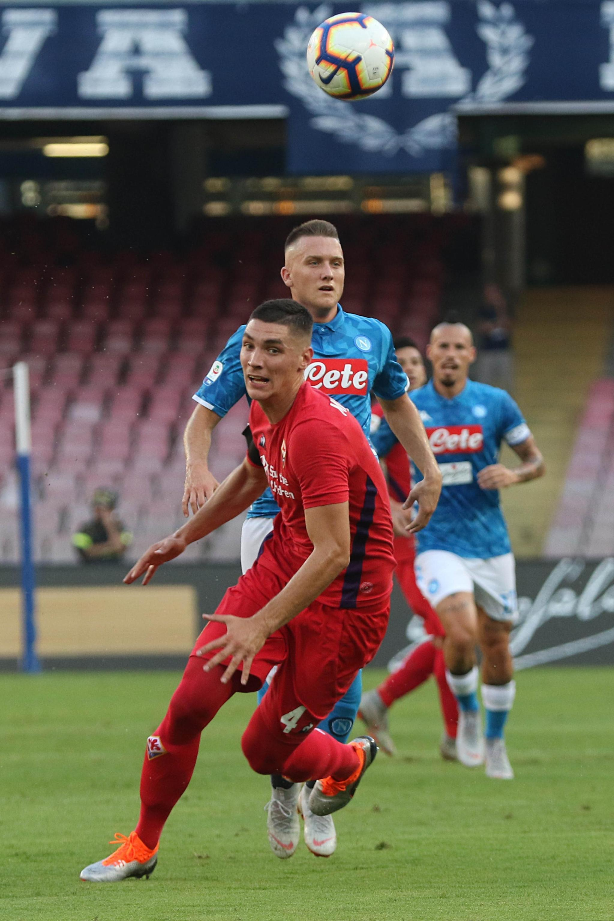Milenkovic insists he is already at the 'ideal club'