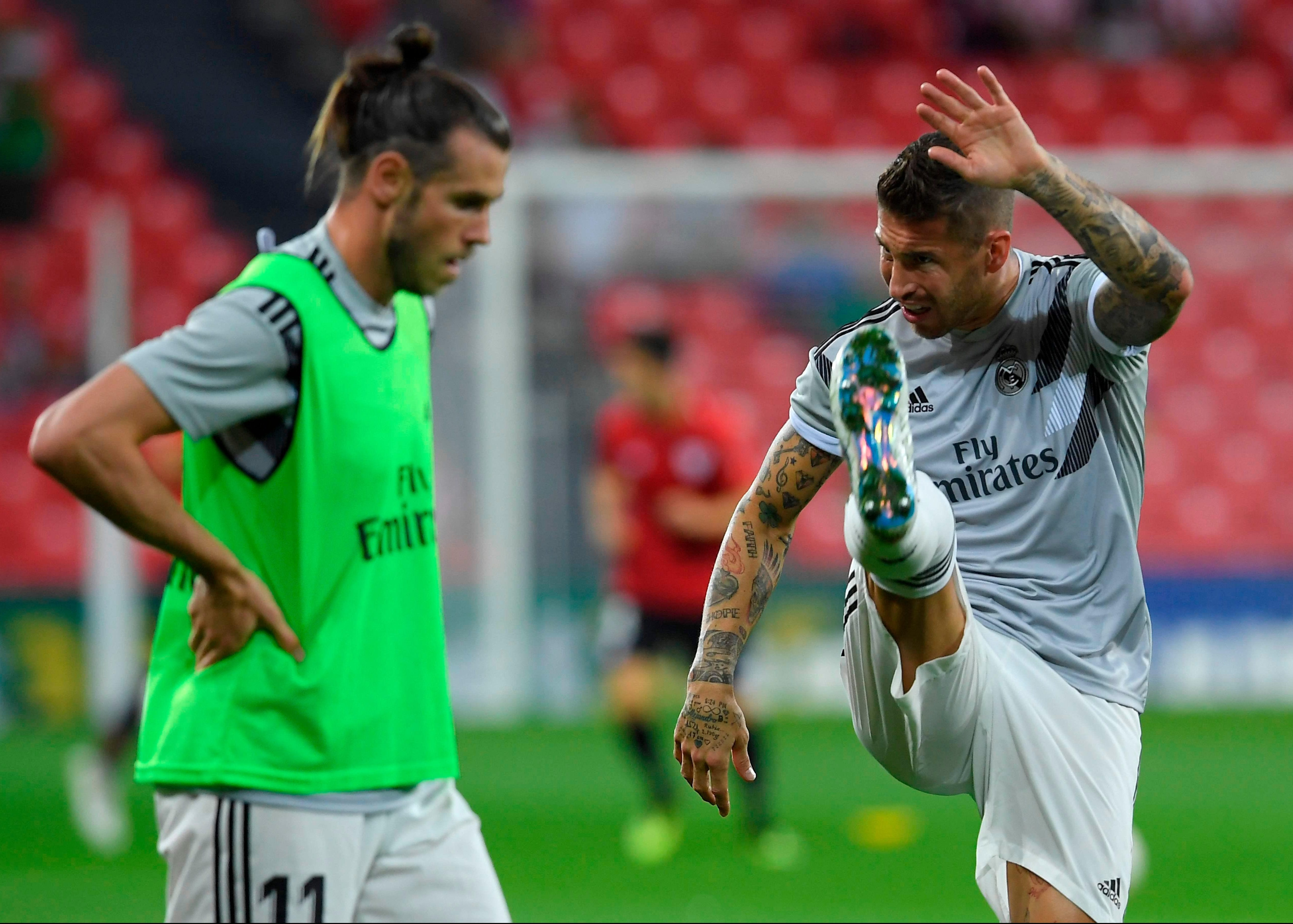 Gareth Bale and Sergio Ramos must step up after Real Madrid lost their main man Cristiano Ronaldo to Juventus in the summer