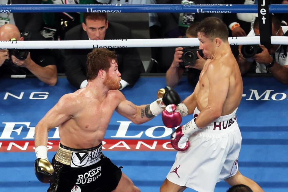 Canelo and GGG went toe-to-toe for another 12 rounds in Vegas
