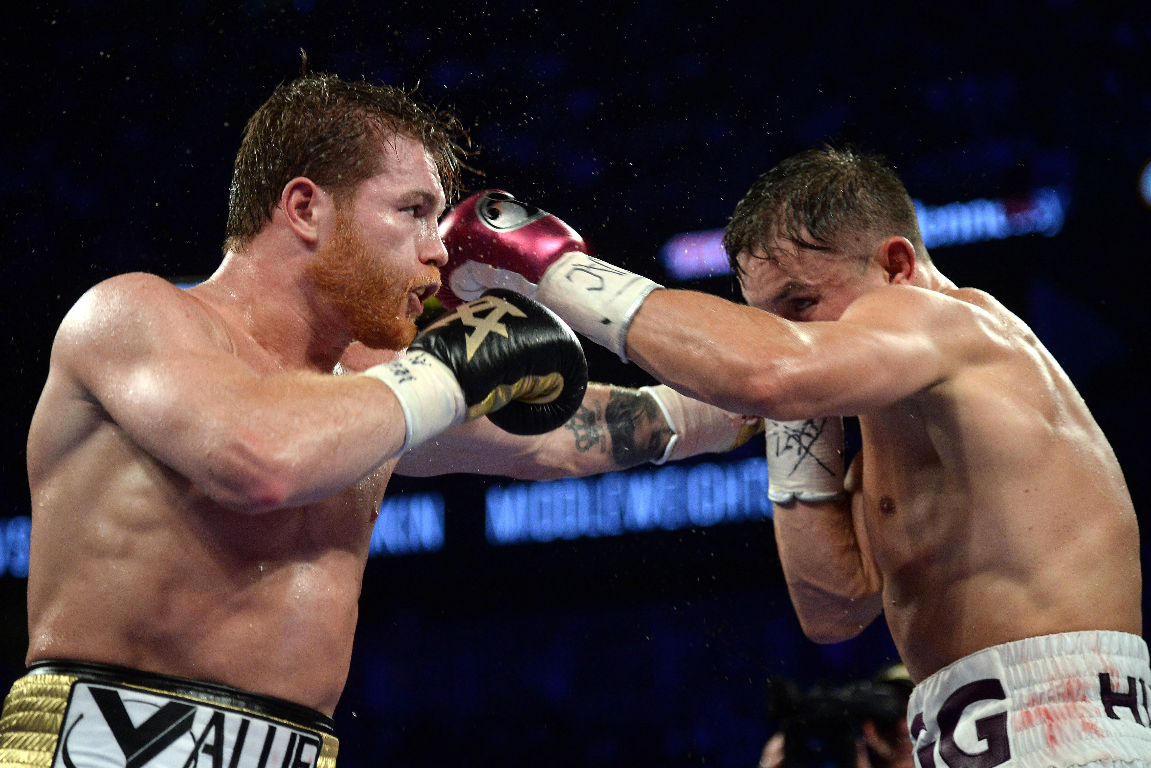 One judge scored it a draw while the other two favoured Canelo by two rounds