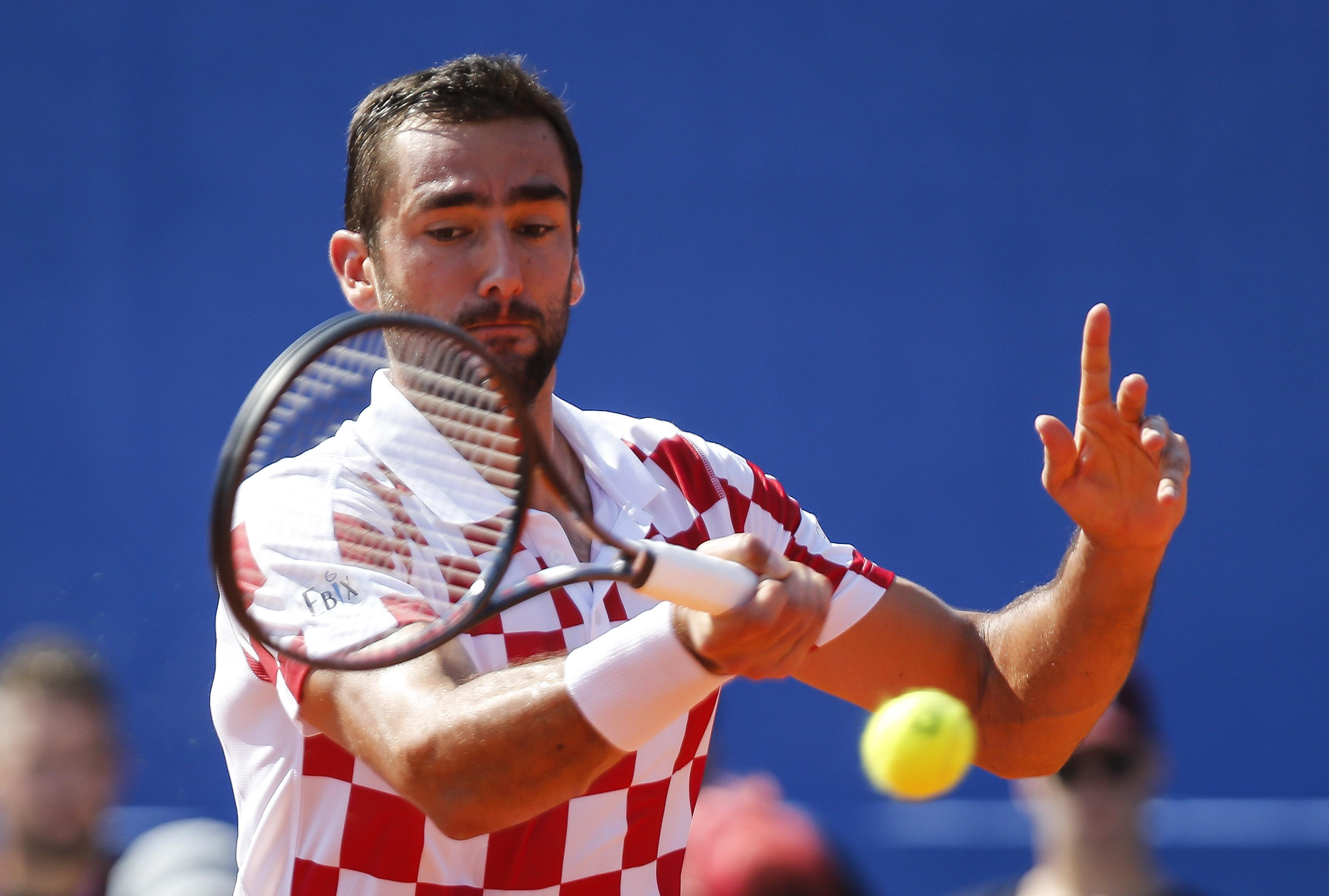 Marin Cilic was well below his best as he succumbed to a shock defeat