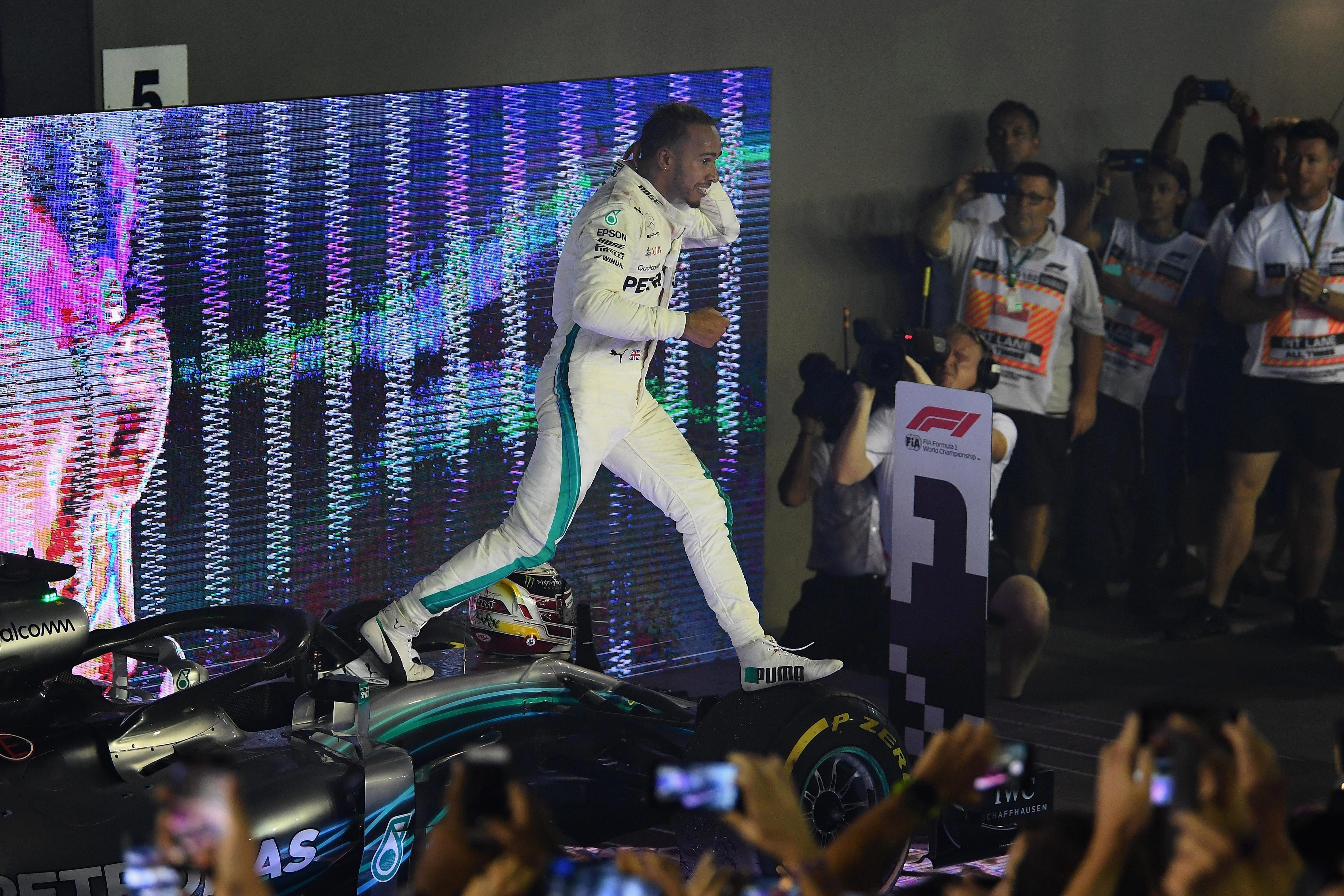 Lewis Hamilton took a big step towards winning another Formula One title