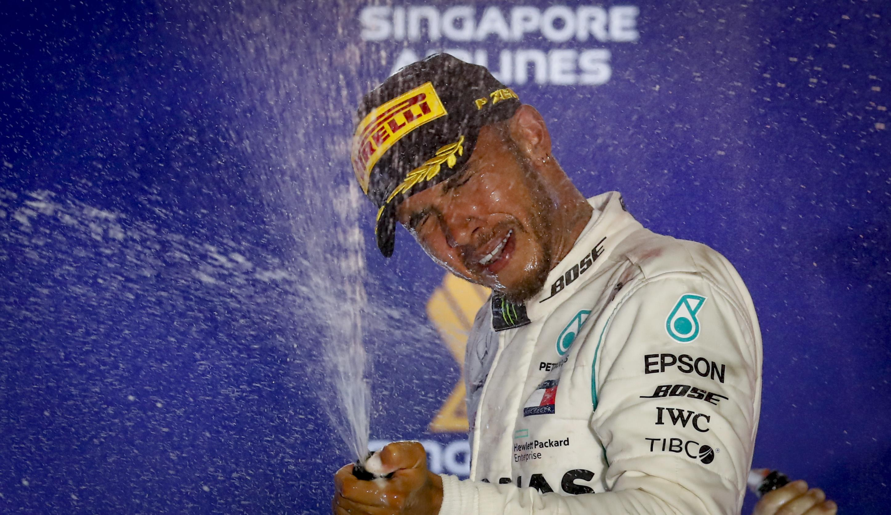 Lewis Hamilton is edging ever closer to the world championship