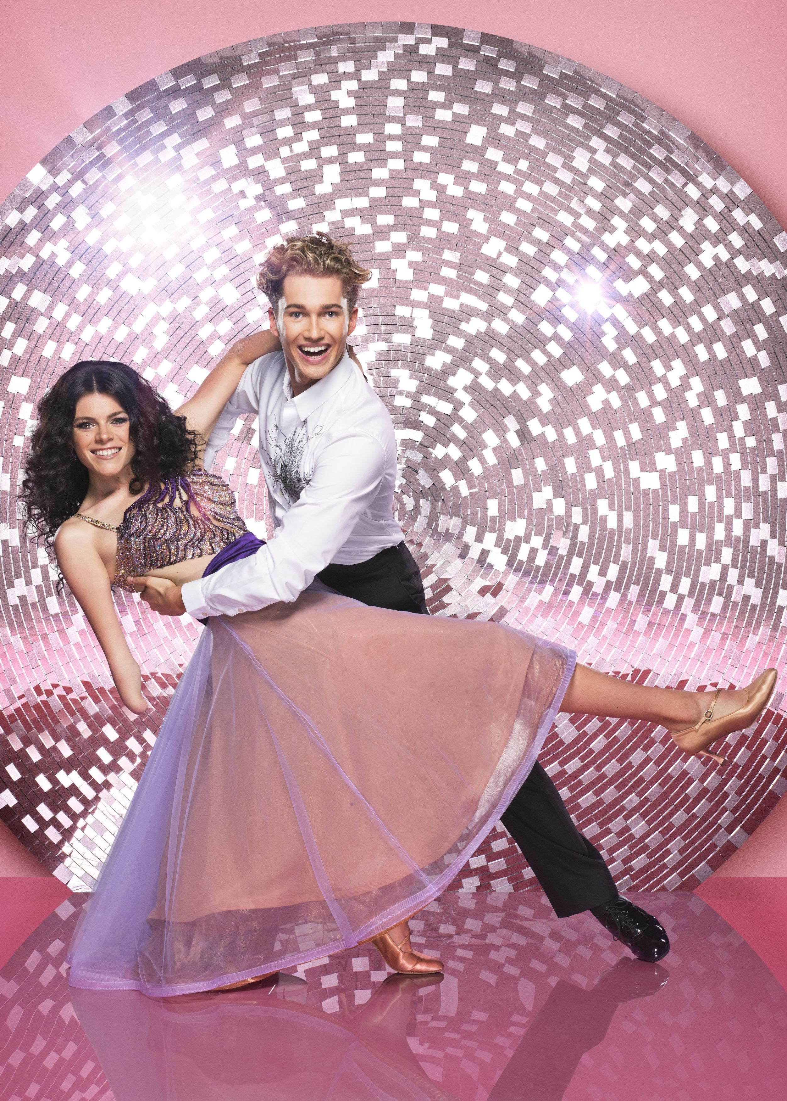 Lauren is paired with AJ Pritchard