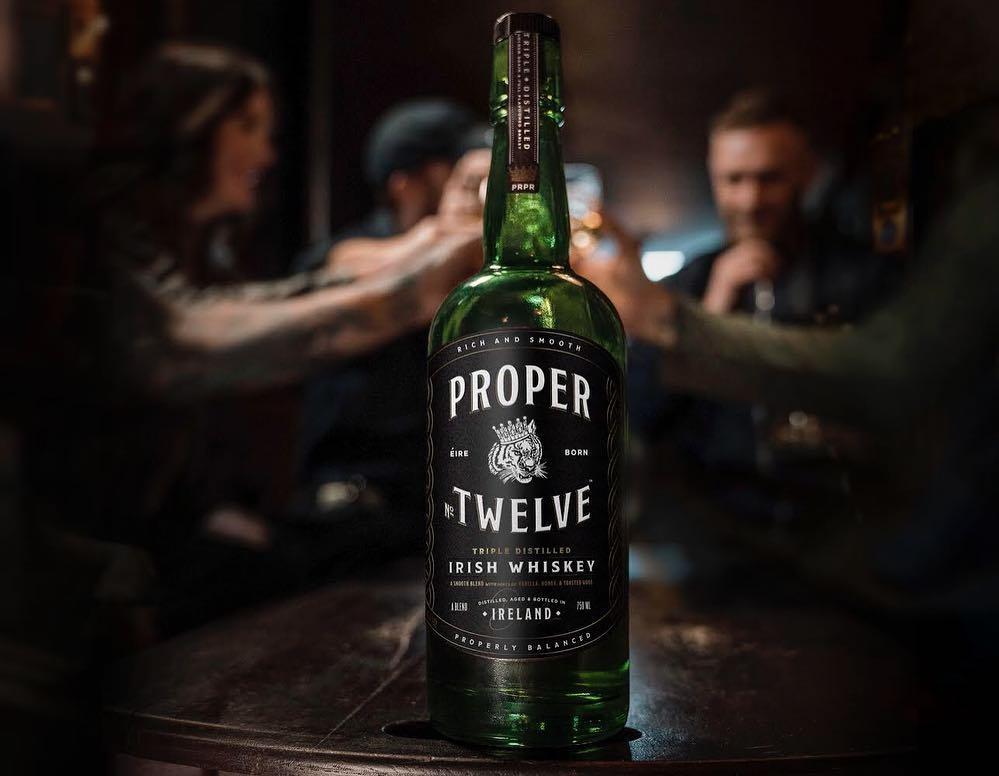 Conor McGregor called his brand Proper Twelve after his area of Dublin