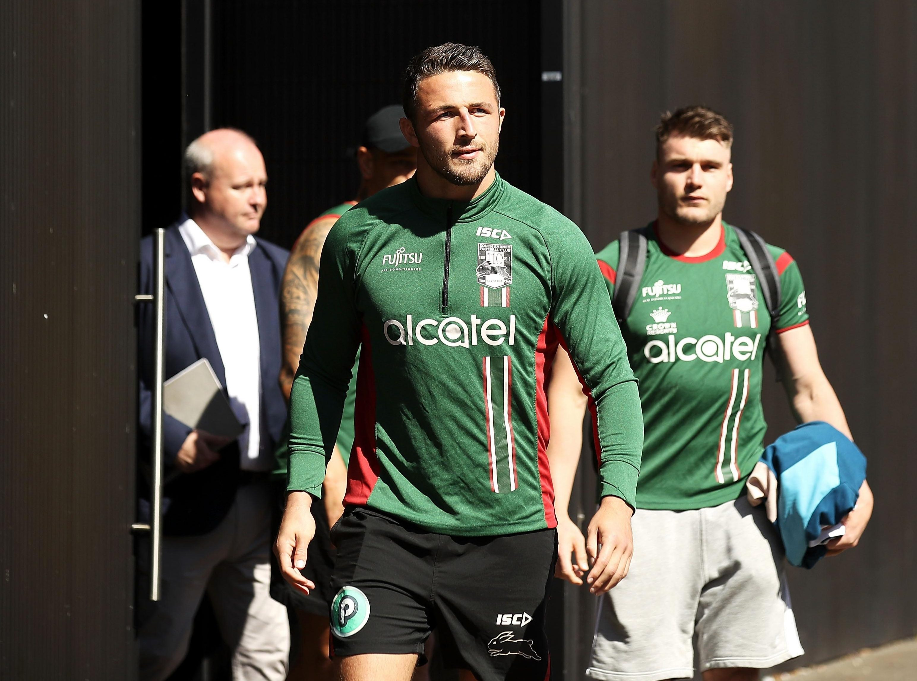 Burgess and his team are preparing for their next rugby league game of the season