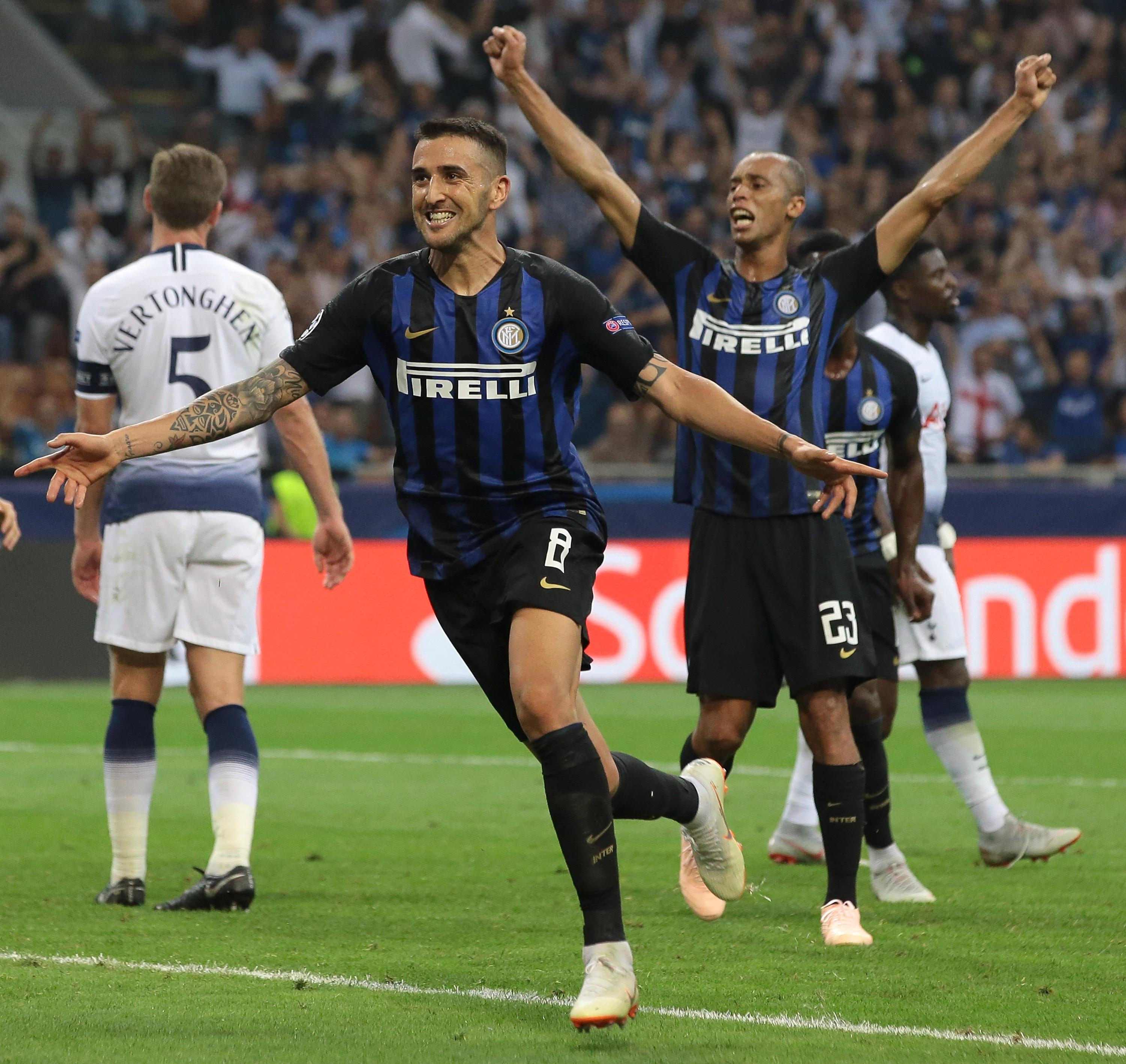 Inter Milan scored two late goals to snatch victory from the jaws of defeat