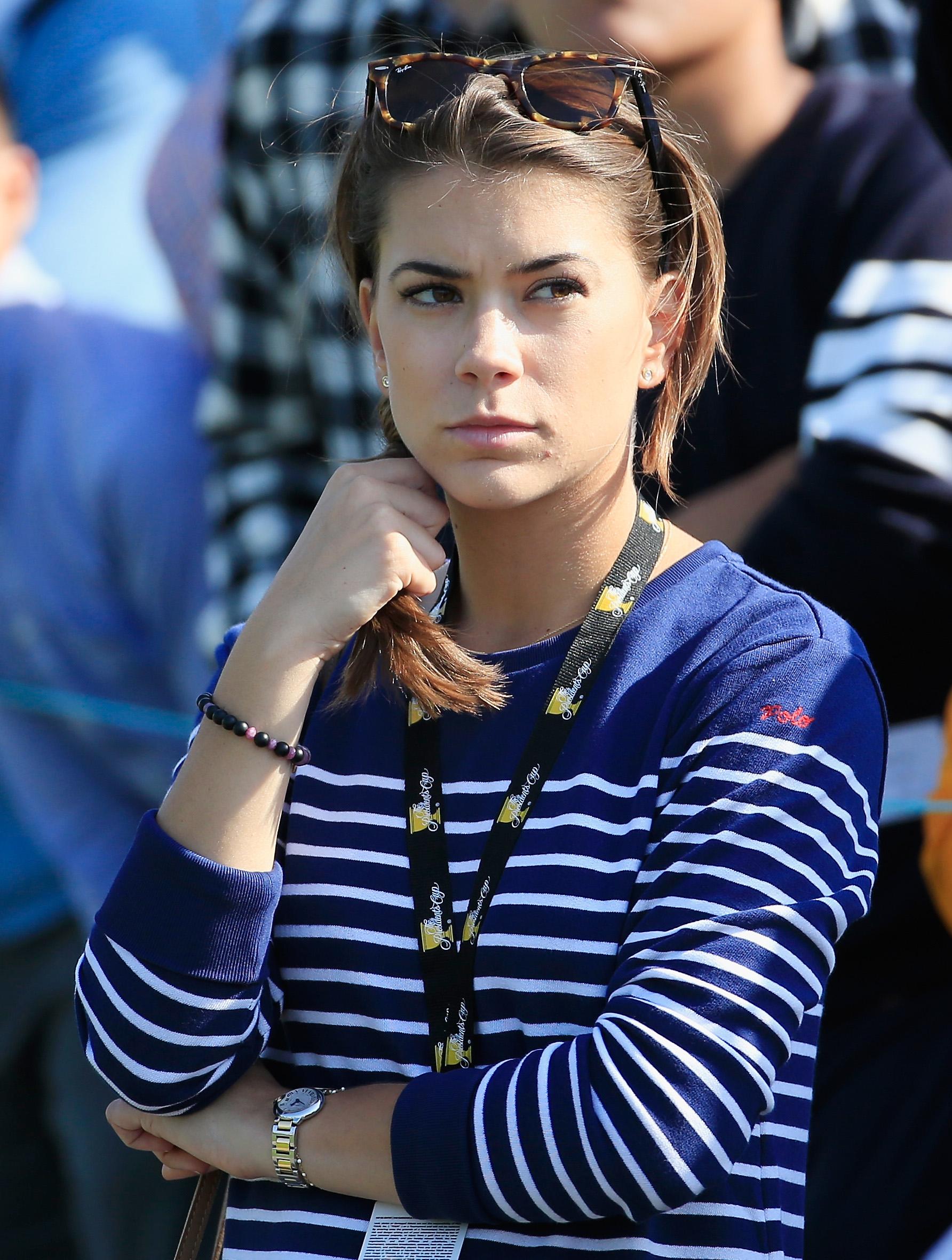 Annie Verret is a regular watching partner Jordan Speith in the majors
