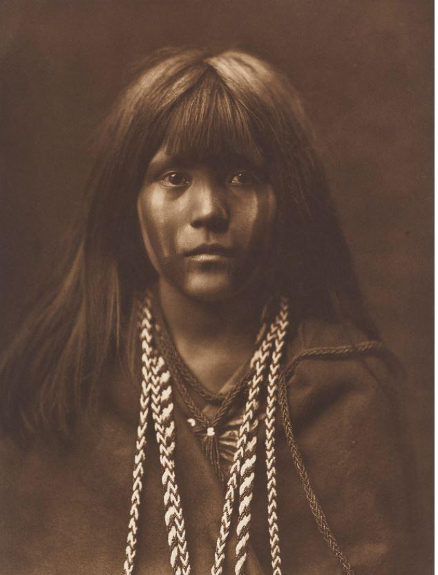The stunning images were taken by photographer Edward S. Curtis as he travelled around the American West