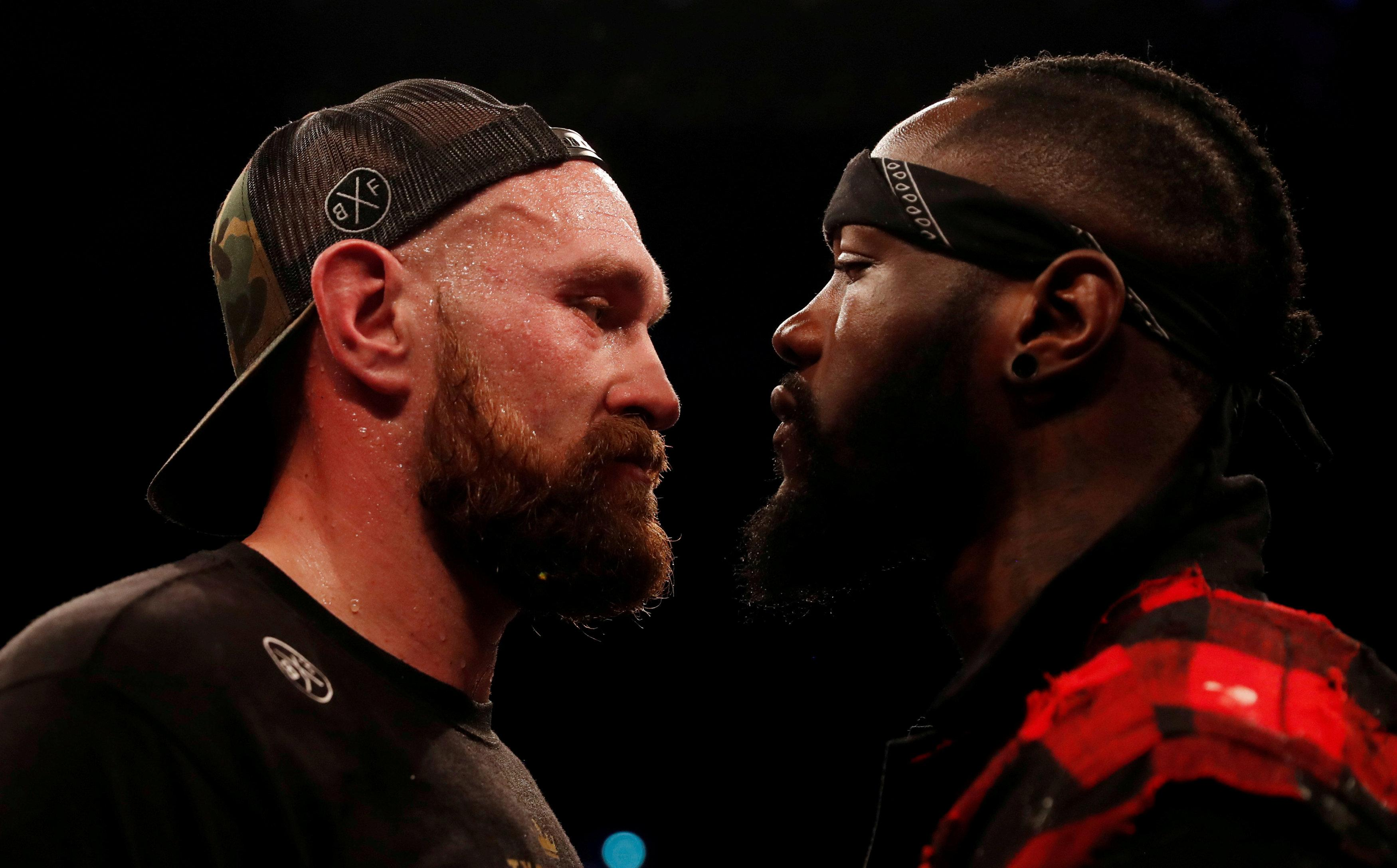 Fury and Wilder will both put their unbeaten records on the line in America