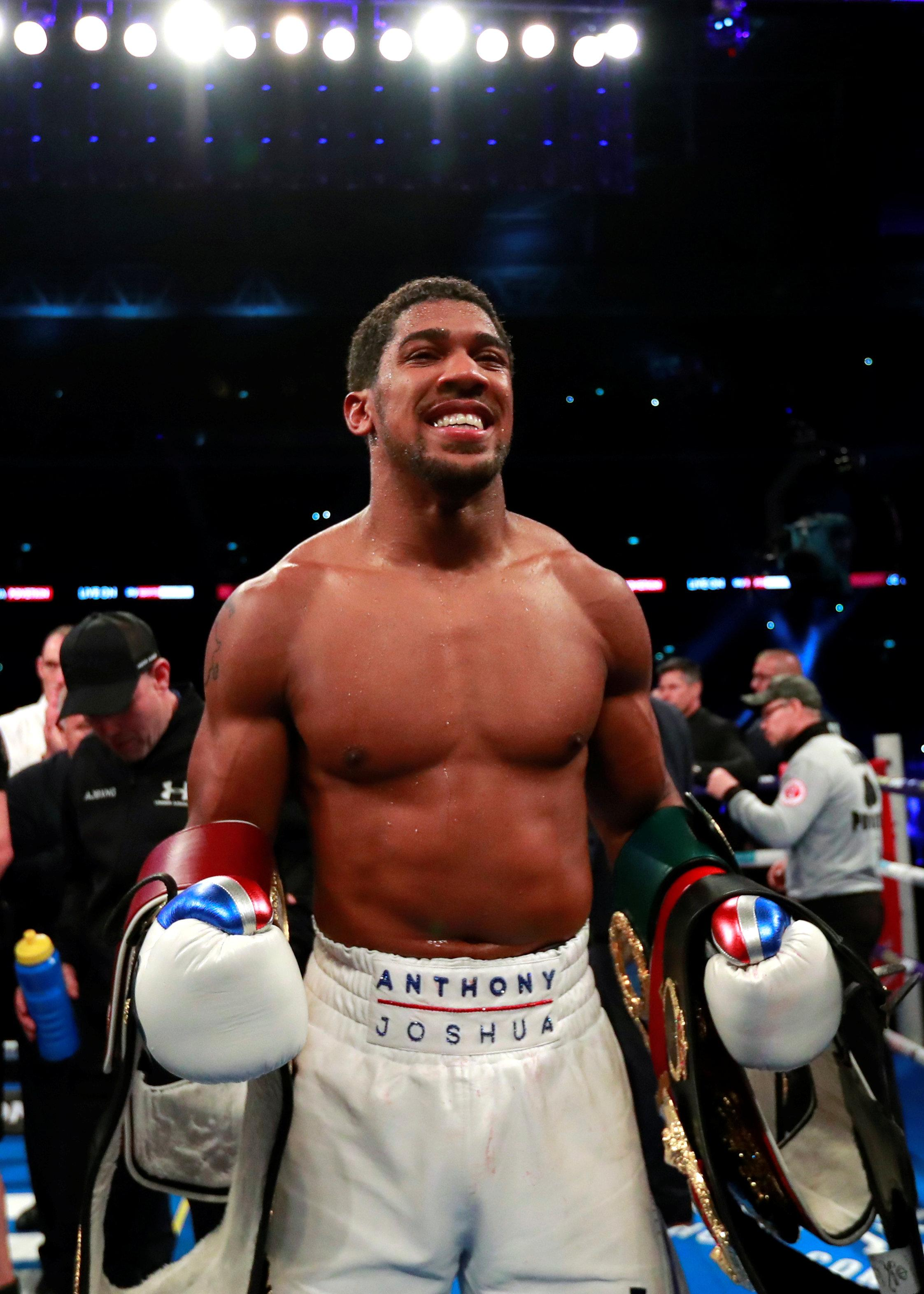 Anthony Joshua could take on Wilder next April if he beats Fury