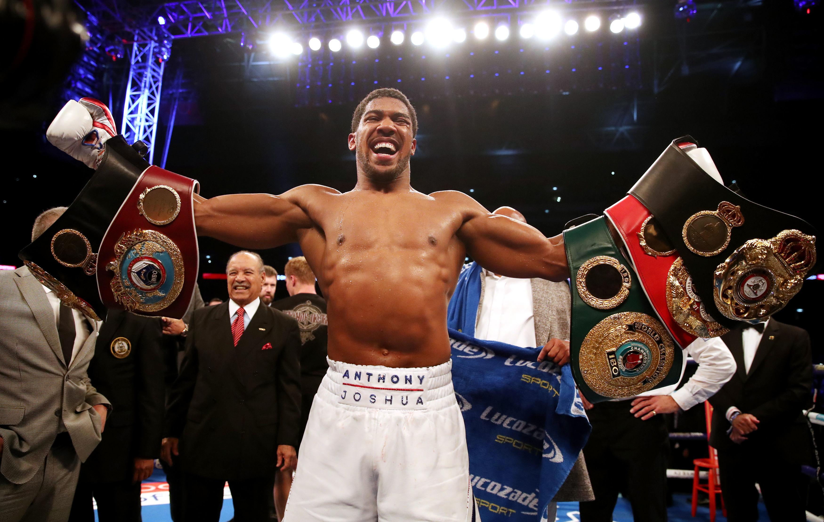 Anthony Joshua had some scary moments in the early rounds against Alexander Povetkin before securing another KO win