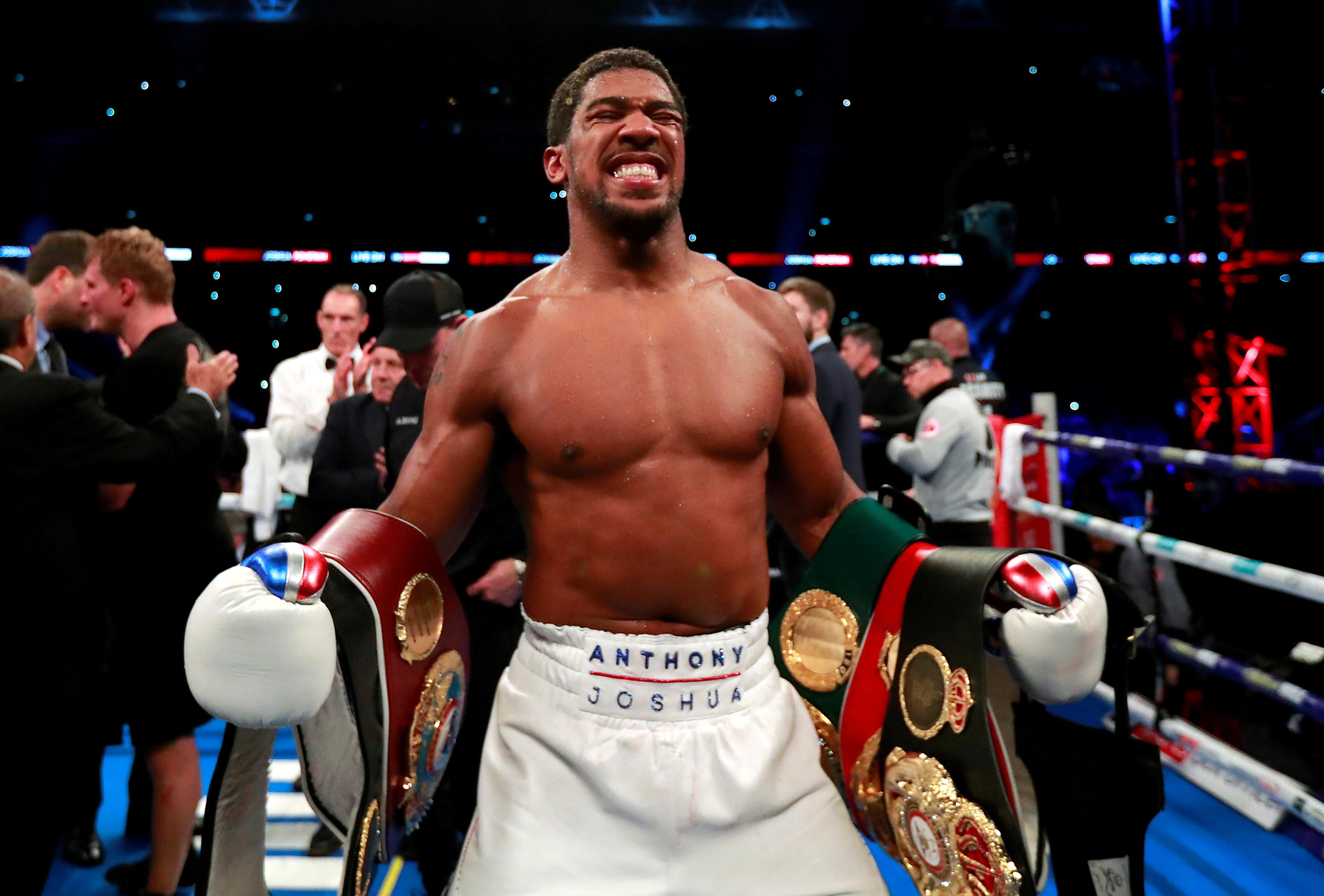 AJ retained his unbeaten record after a 21st knockout in 22 fights