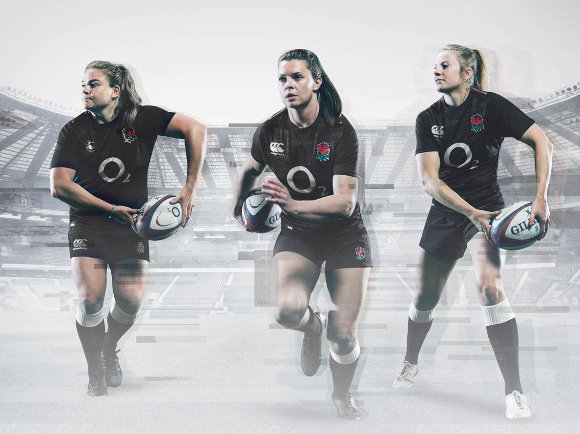 England's women will also wear the same new jersey for their matches