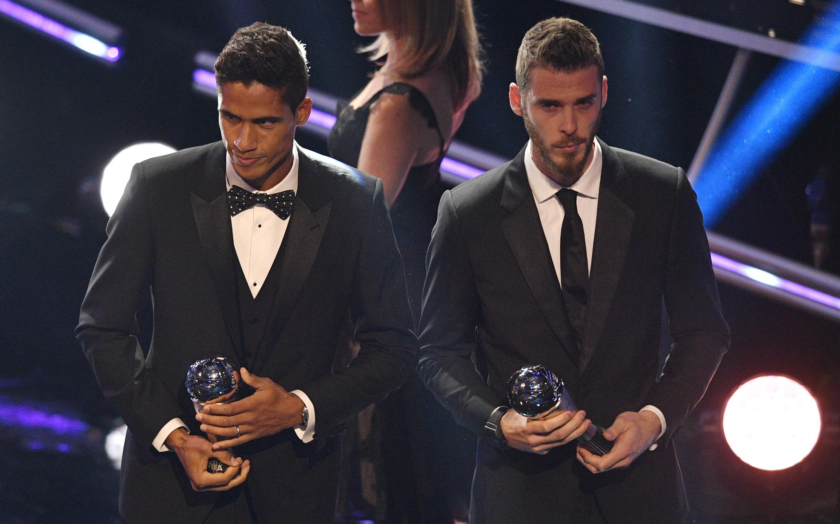 De Gea was named in the FIFPro World XI on Monday night