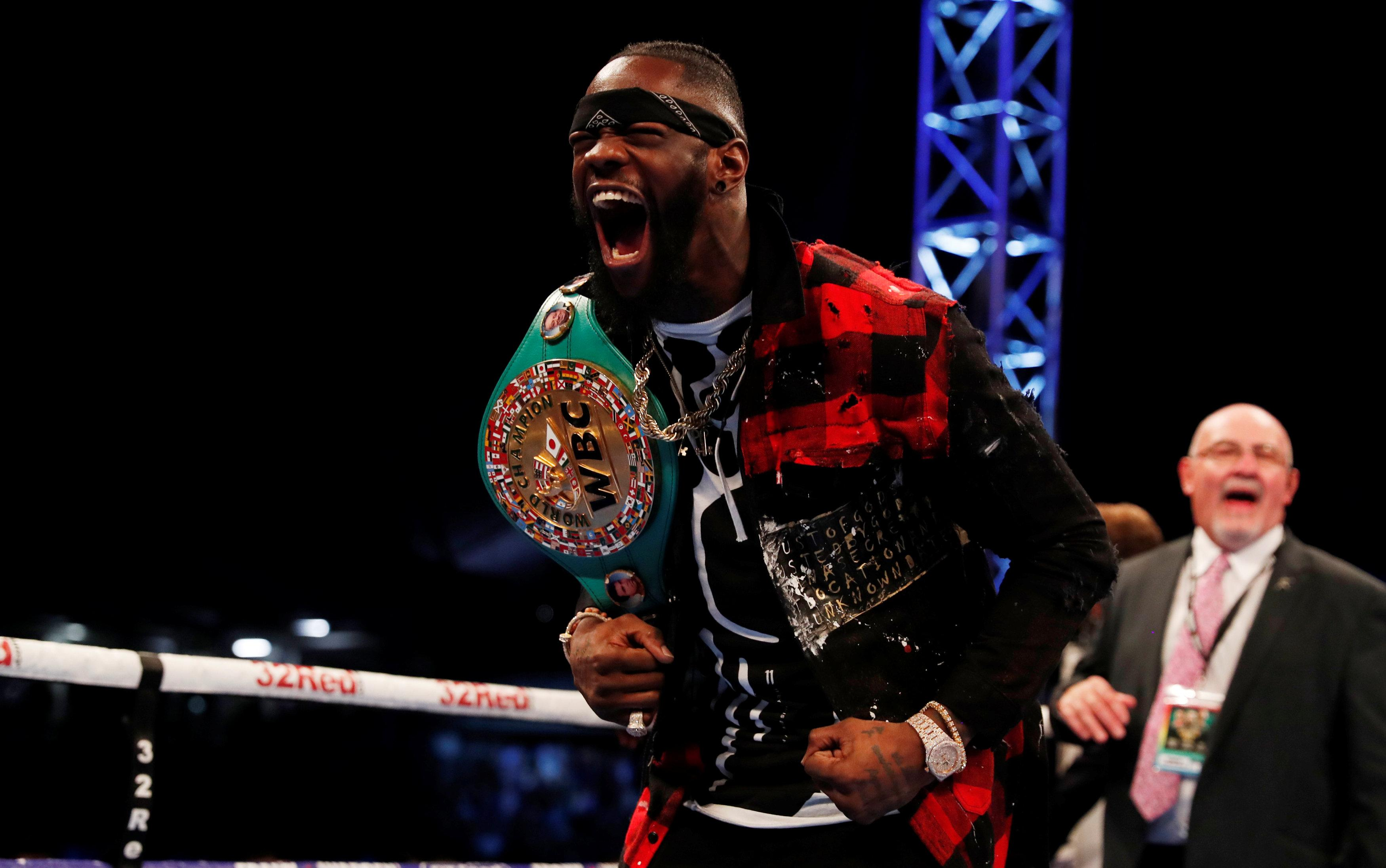 Jones also wants to take on fellow American and WBC champion Deontay Wilder