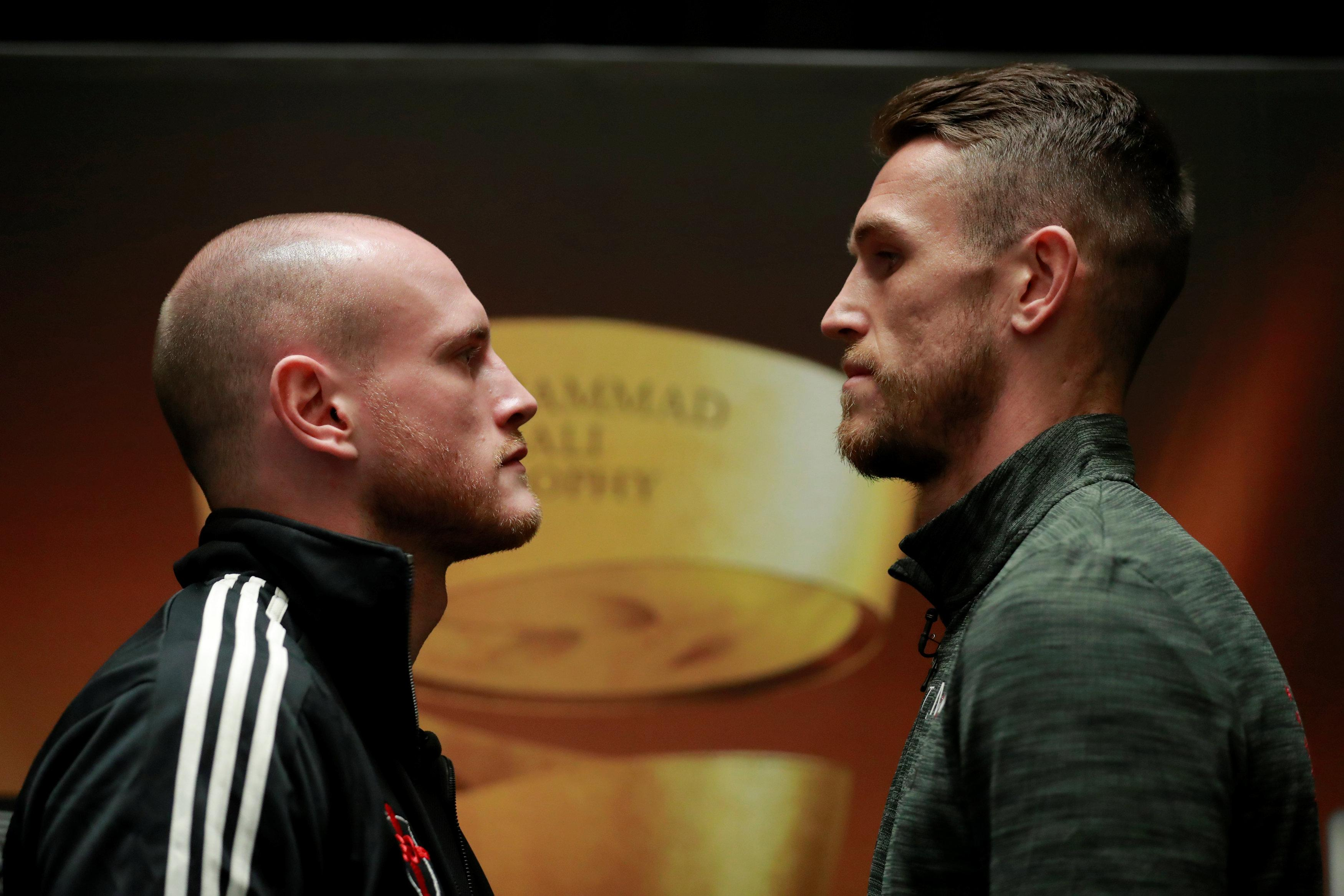 Groves is looking to inflict a first professional defeat on Liverpudlian Smith