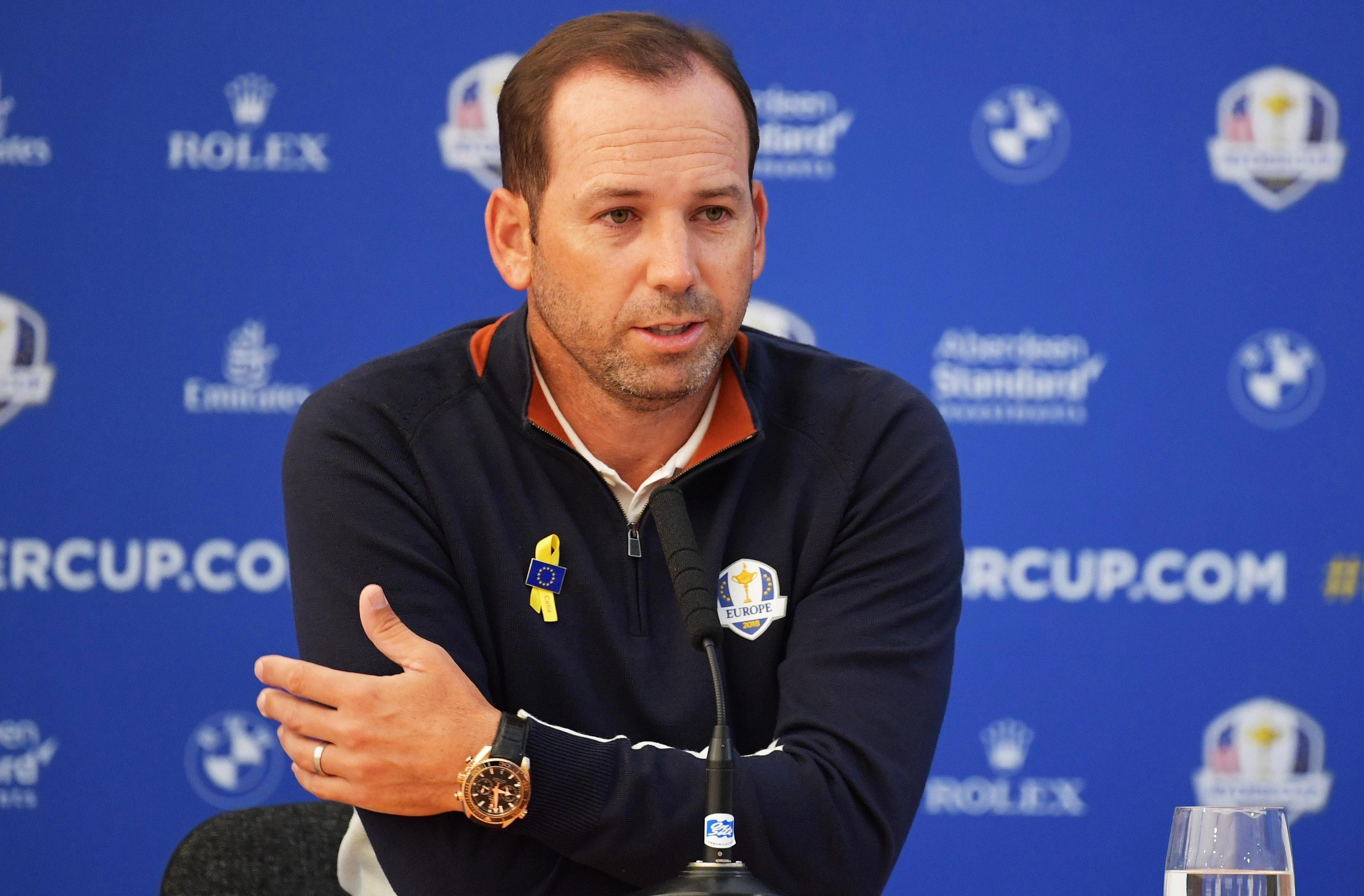 Sergio Garcia has vowed to win the Ryder Cup for murdered Celia Barquin Arozamena