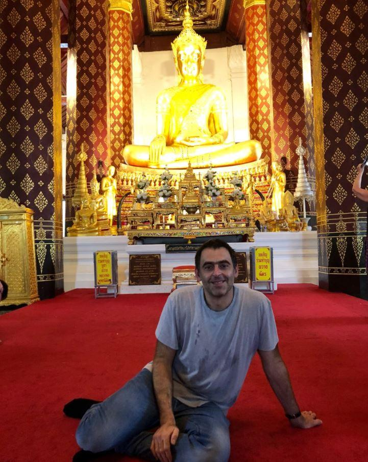 Ronnie O'Sullivan has revealed plans to live with Buddhist monks in Thailand