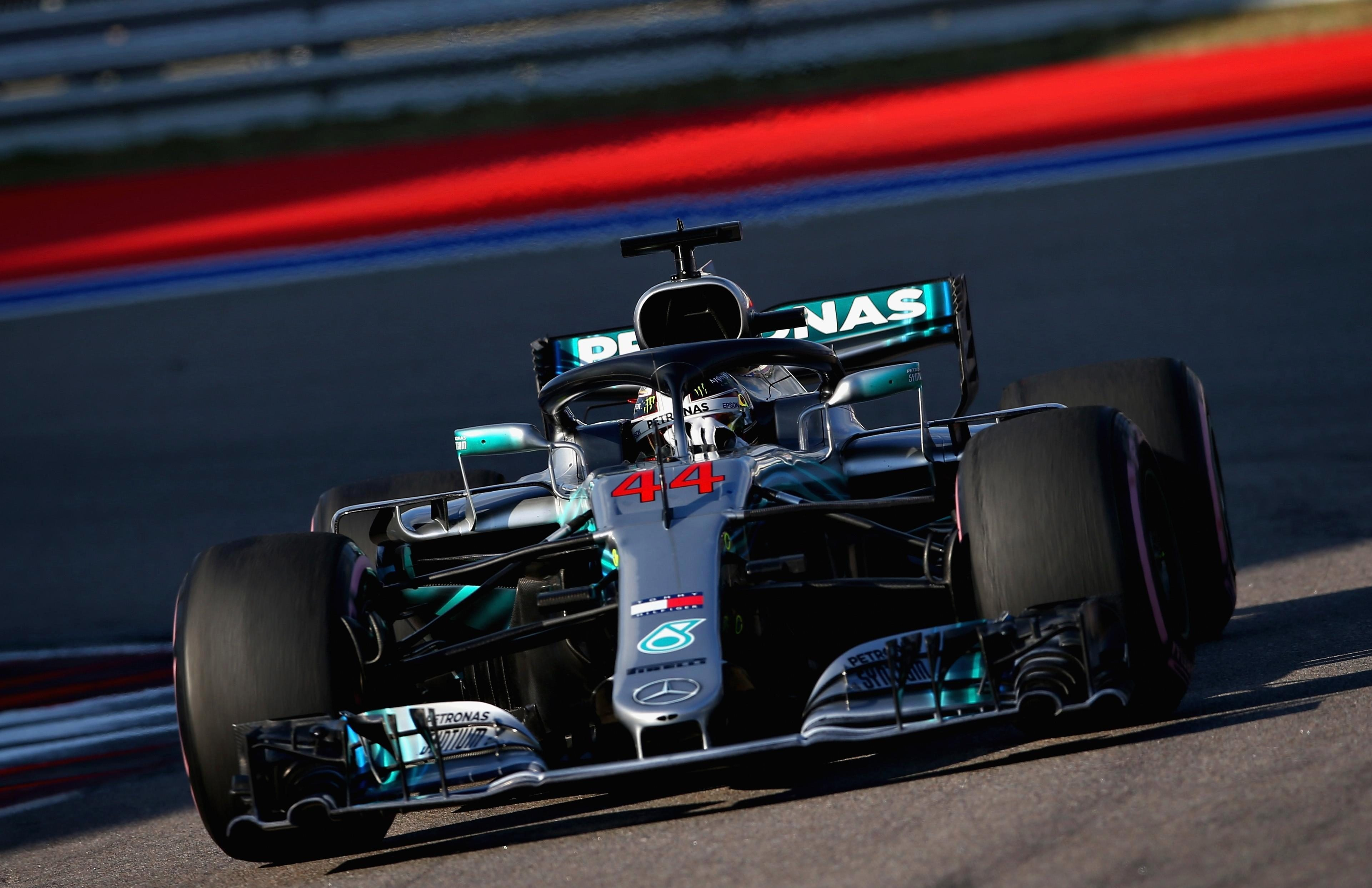 Lewis Hamilton could not outperform his team-mate but is still well positioned